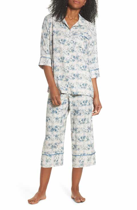 Papinelle Floral Print Crop Pajamas Best Reviews