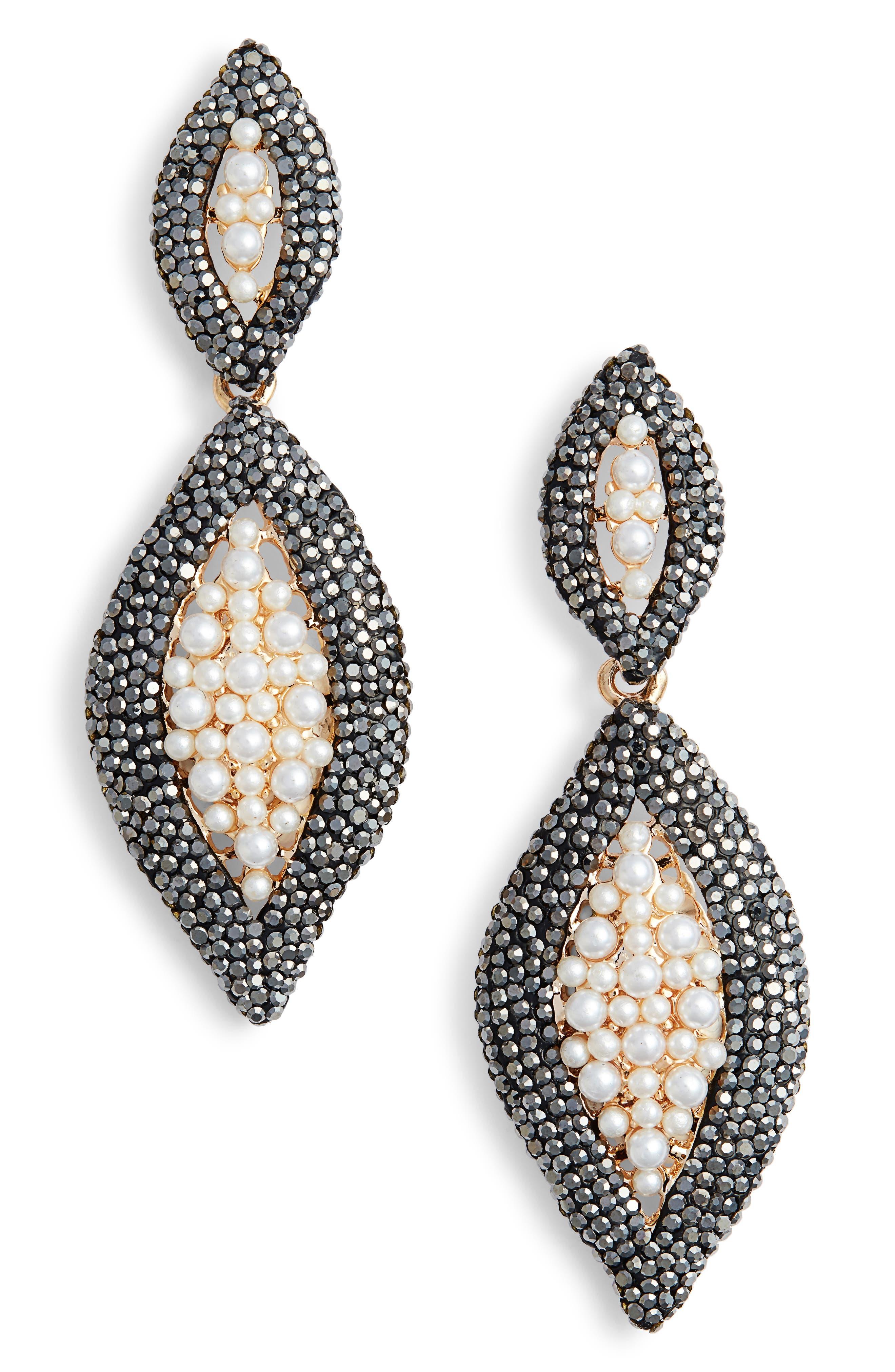 Elise M. Rainey Drop Earrings