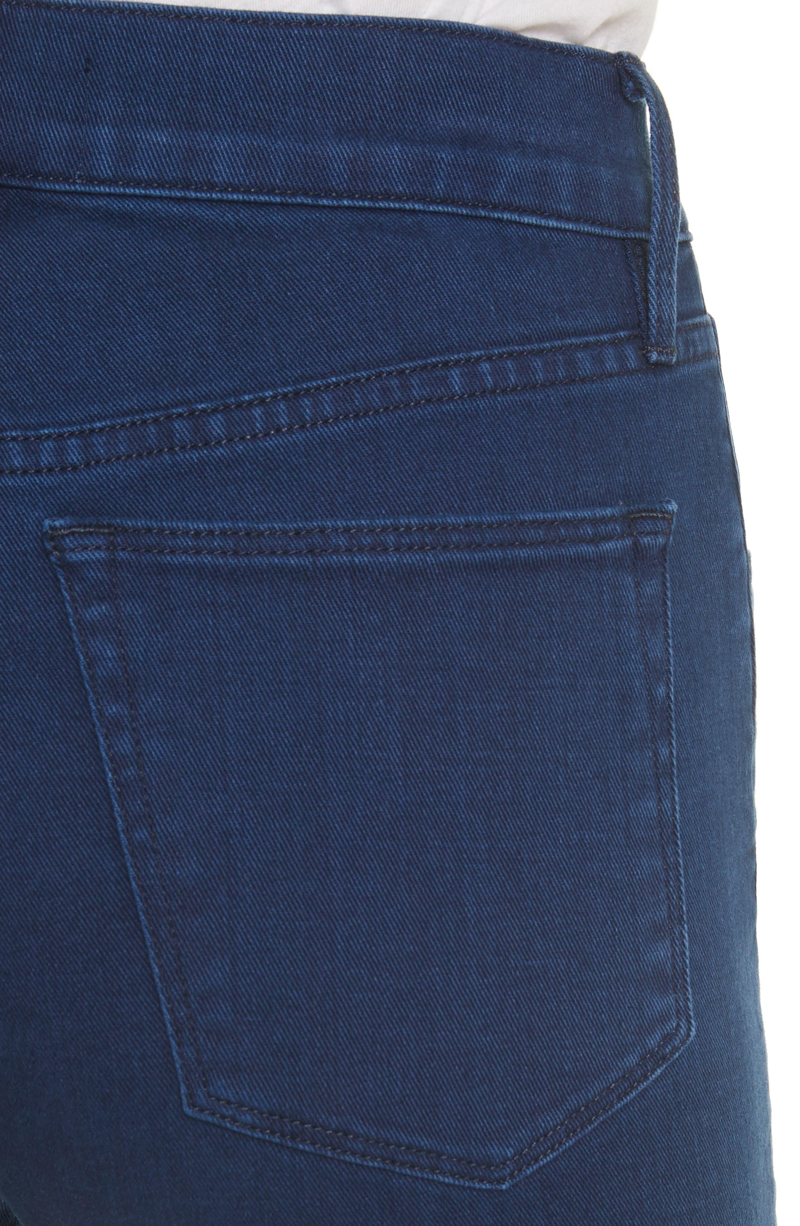 W4 Shelter Crop Wide Leg Jeans,                             Alternate thumbnail 4, color,                             Arrow
