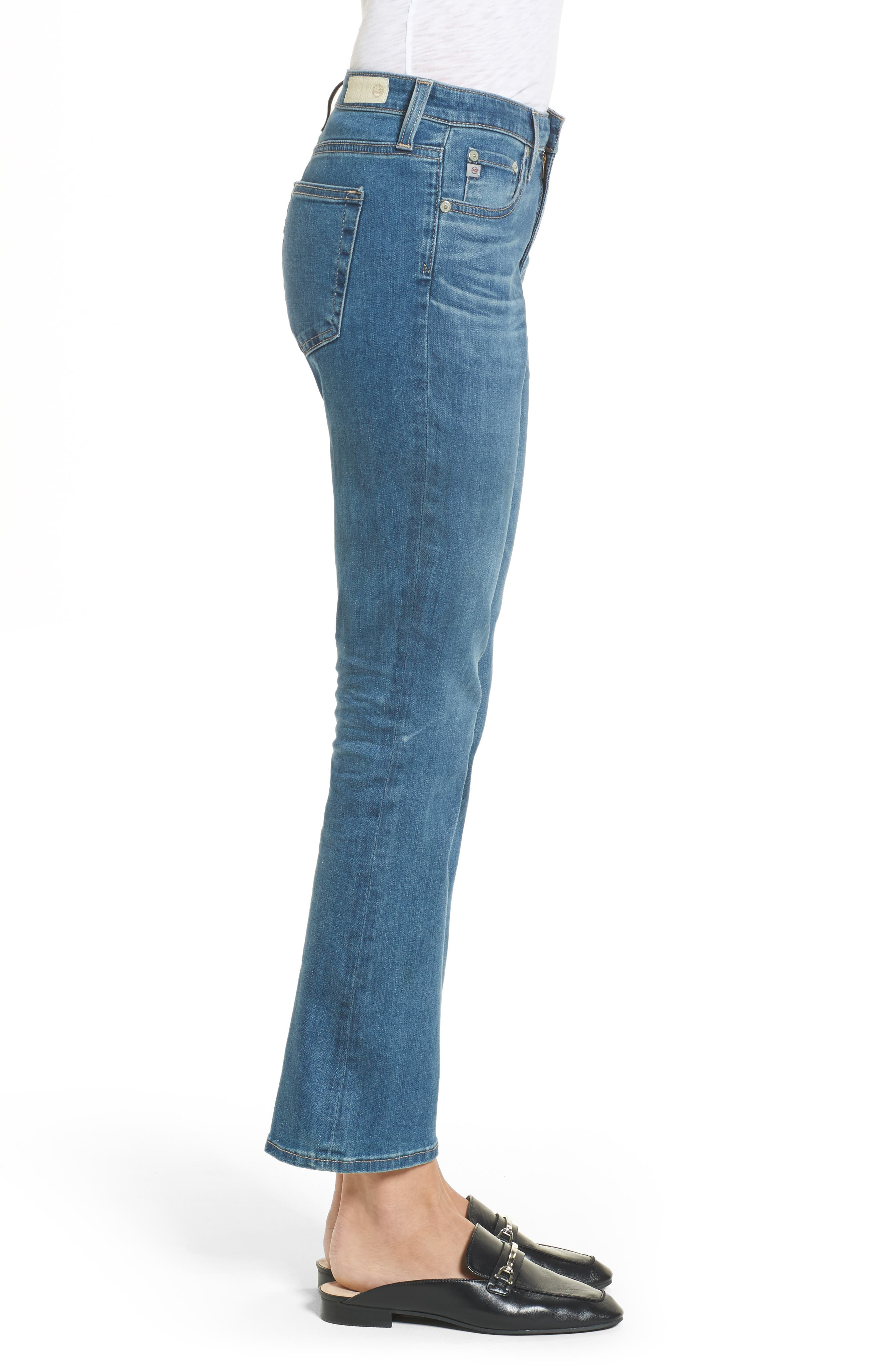 Alternate Image 3  - AG Jodi High Waist Crop Jeans (10 Years Sea Mist)
