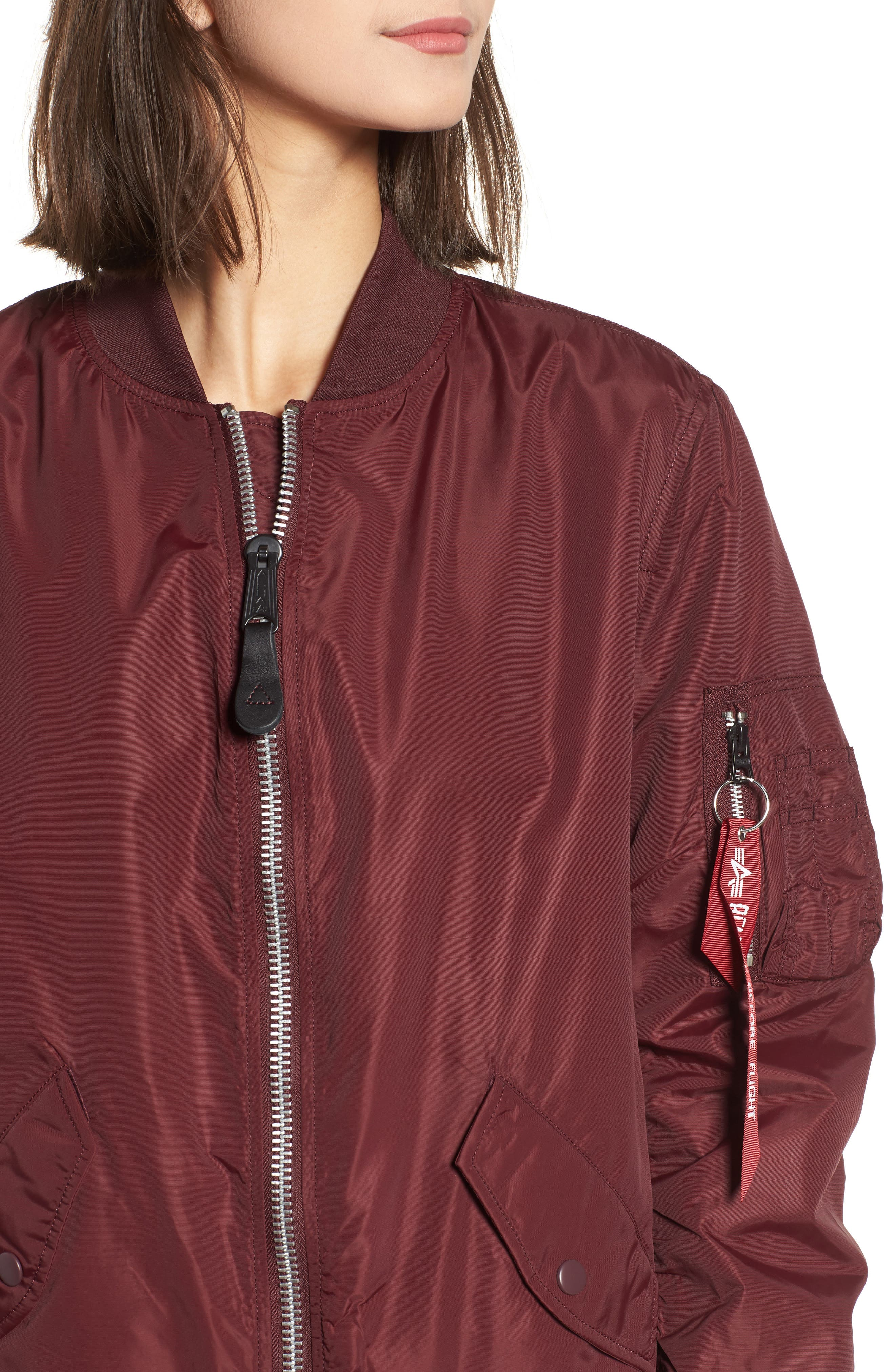 Alternate Image 4  - Alpha Industries L-2B Scout Water Resistant Flight Jacket