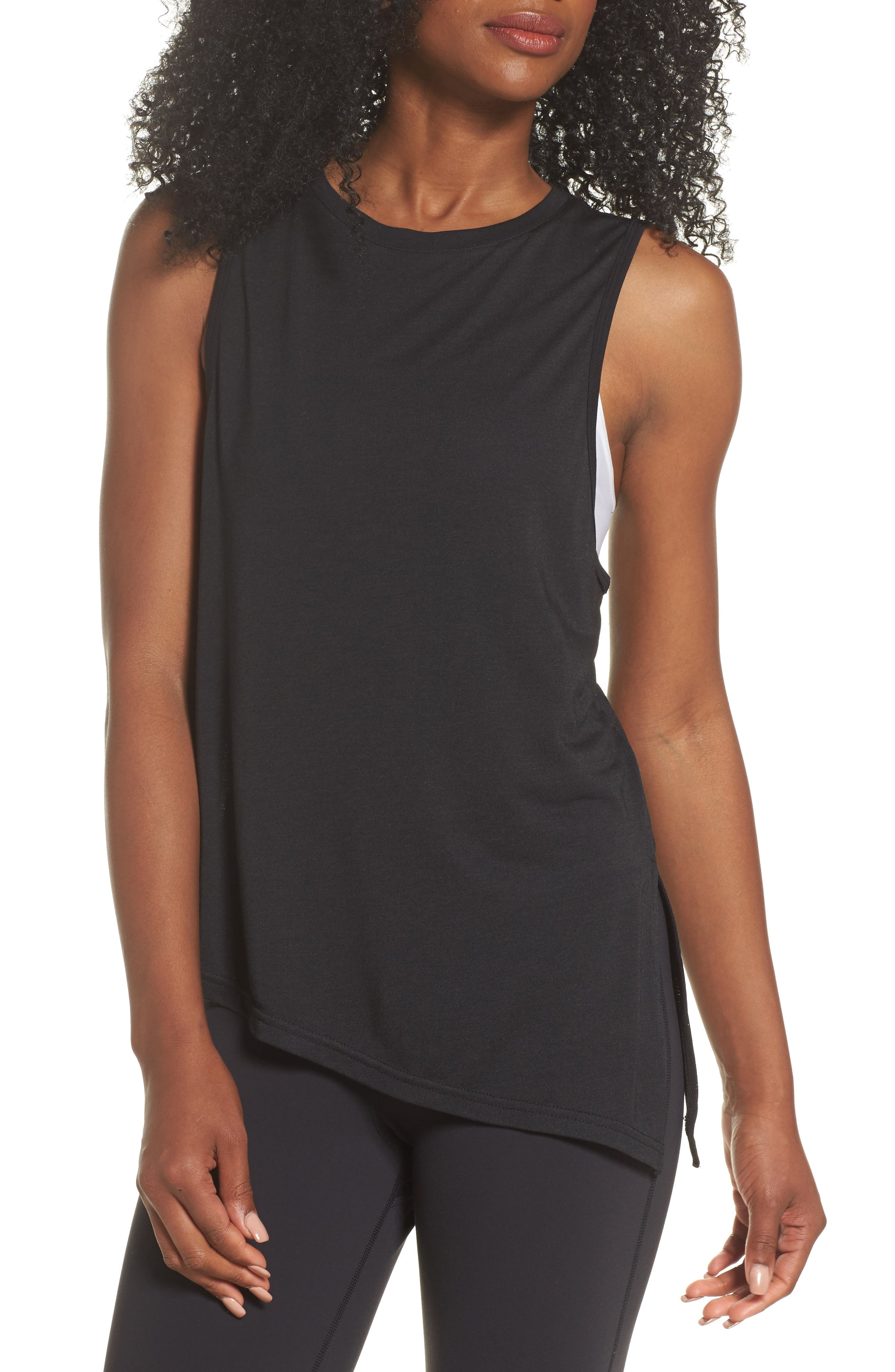 Main Image - Reebok Training Supply Asymmetrical Tank