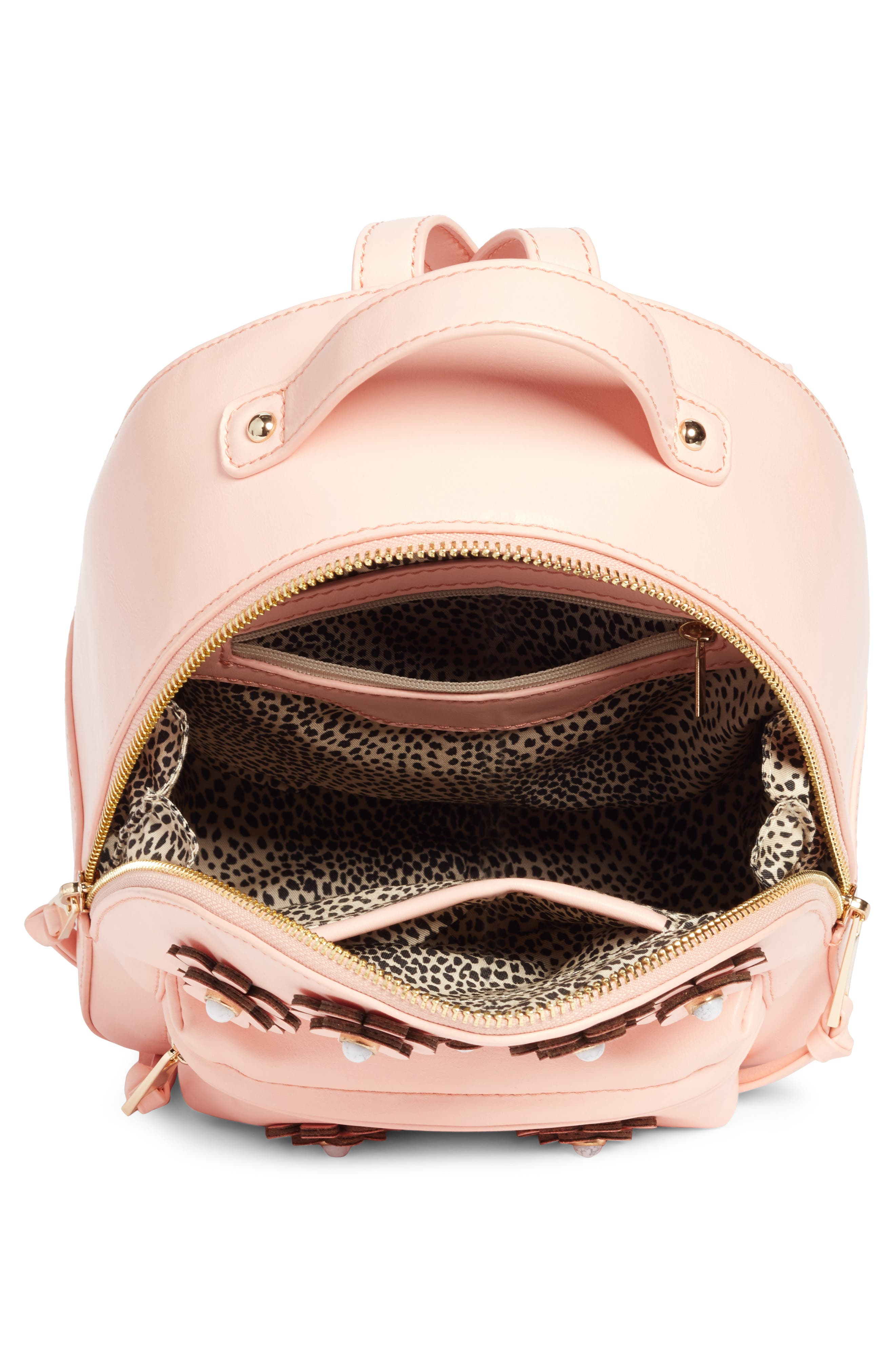 Payette Floral Backpack,                             Alternate thumbnail 4, color,                             Blush
