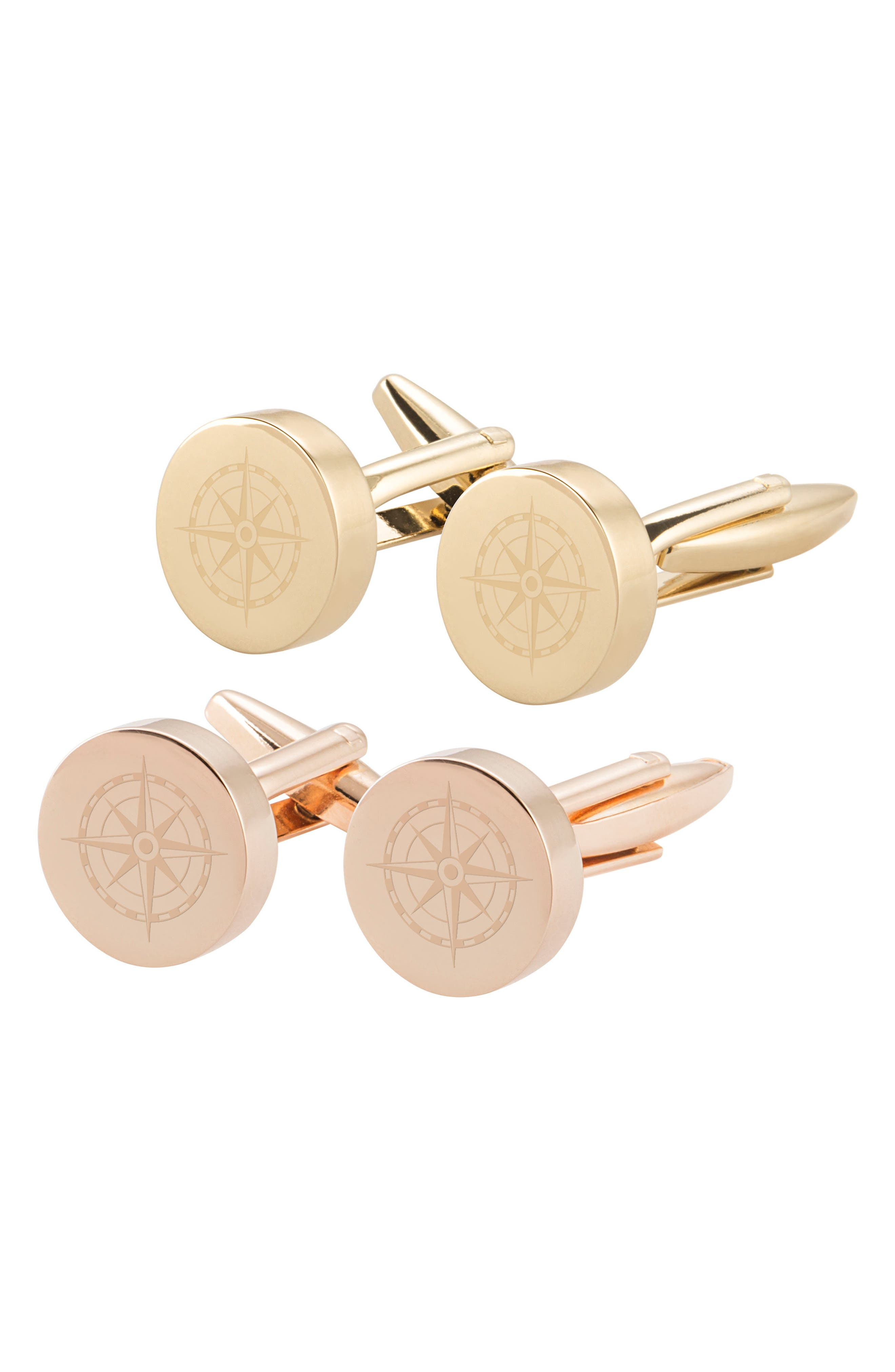 Compass Cuff Links,                             Alternate thumbnail 5, color,