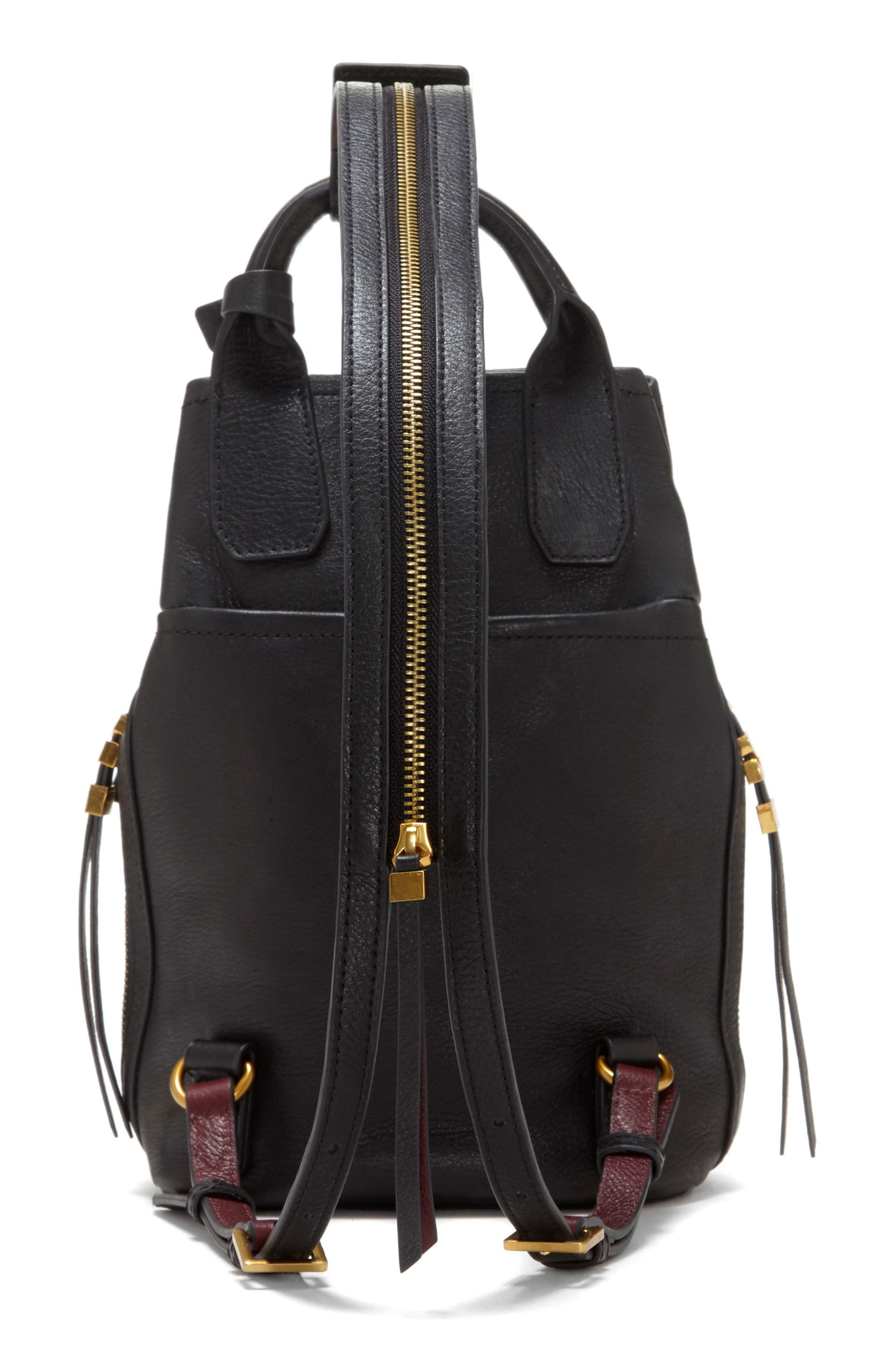 Alternate Image 2  - Vince Camuto Small Luk Adjustable Leather Backpack