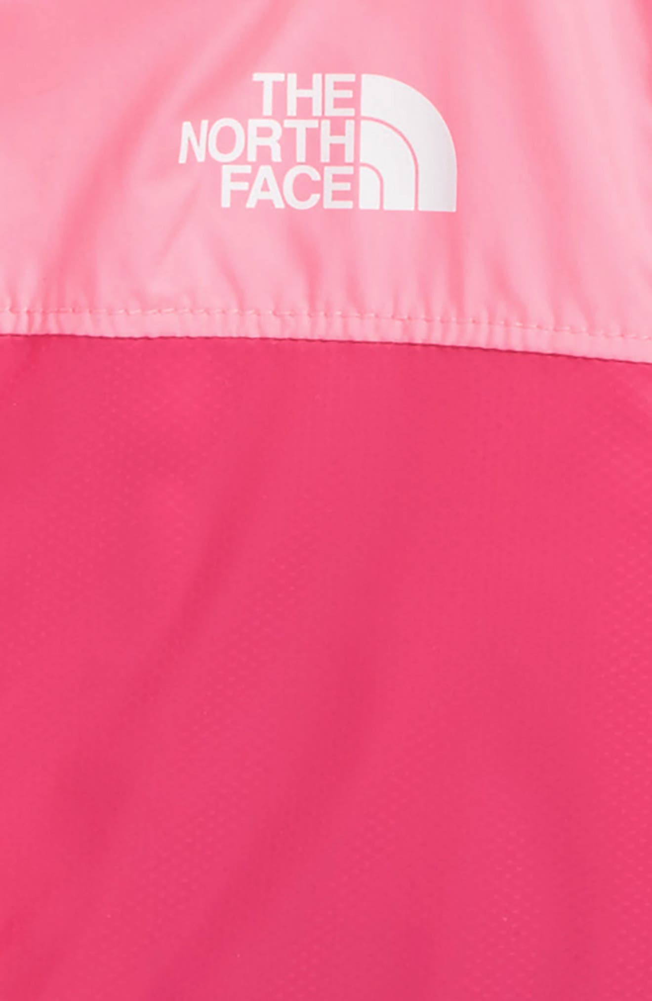 Alternate Image 2  - The North Face Flurry Hooded Windbreaker (Baby Girls)