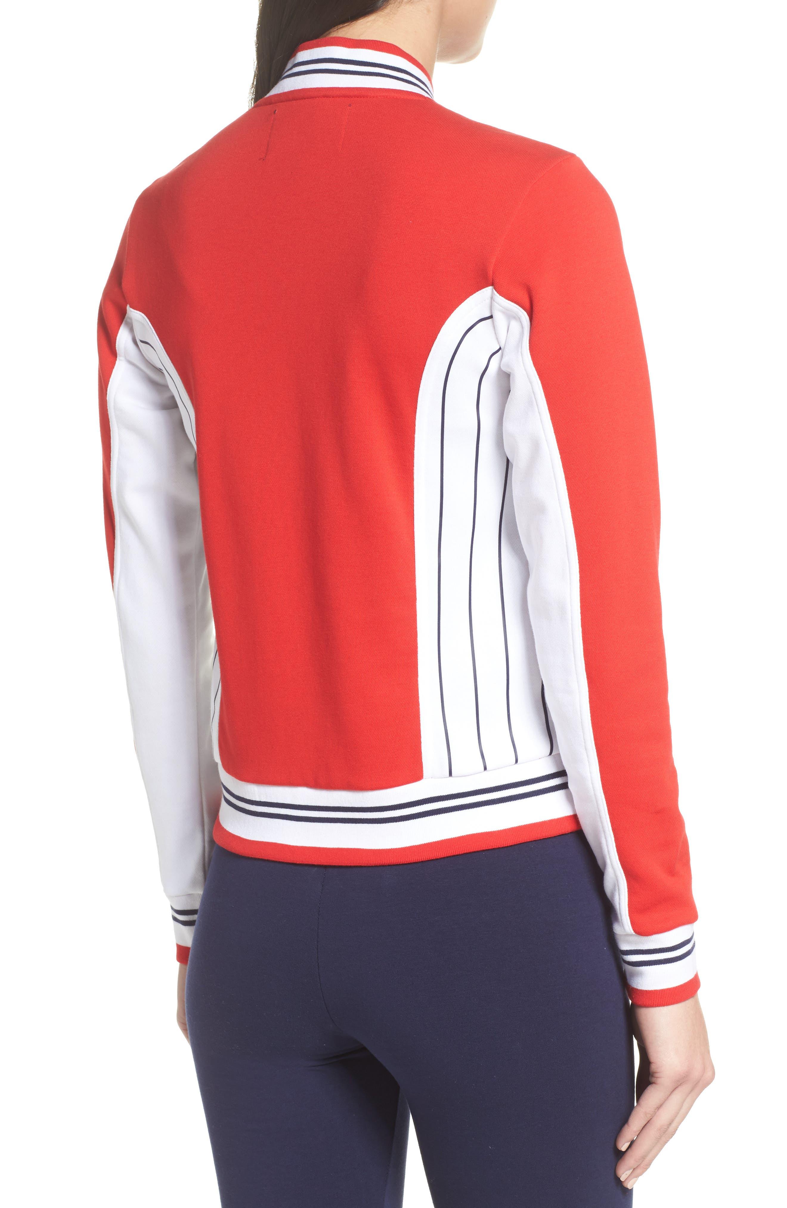 Settanta II Jacket,                             Alternate thumbnail 2, color,                             Chinese Red/ White/ Navy