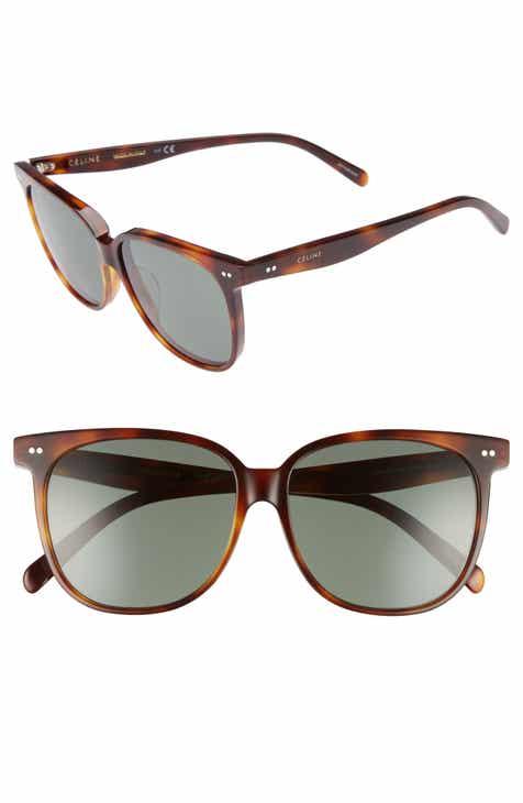 dd63096edc5 Céline Special Fit 58mm Square Sunglasses