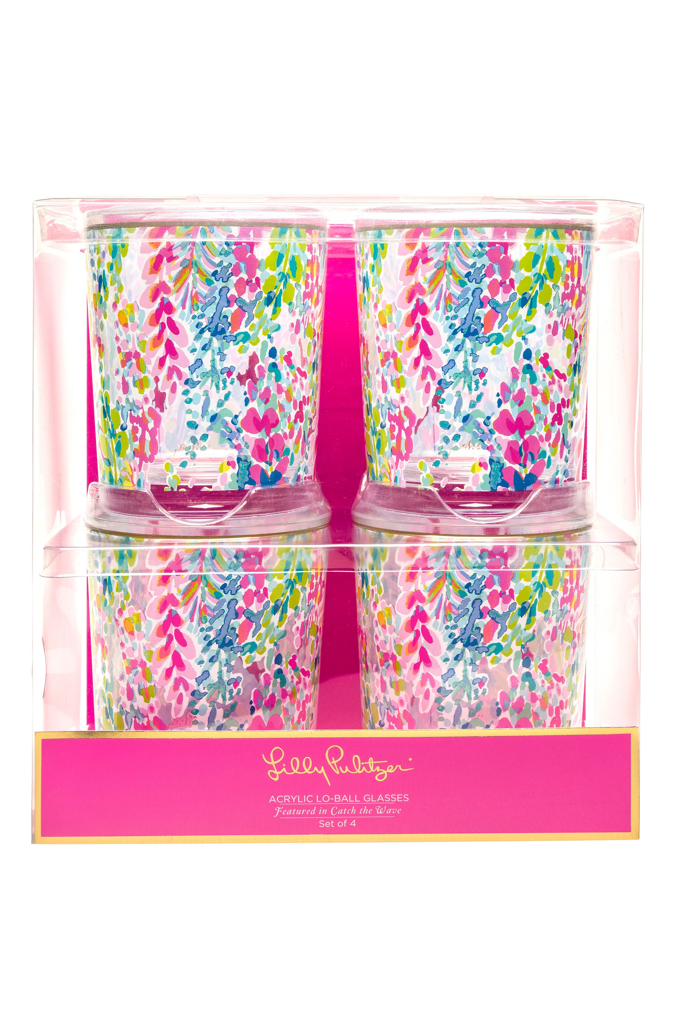 Main Image - Lilly Pulitzer® Set of 4 Tumblers