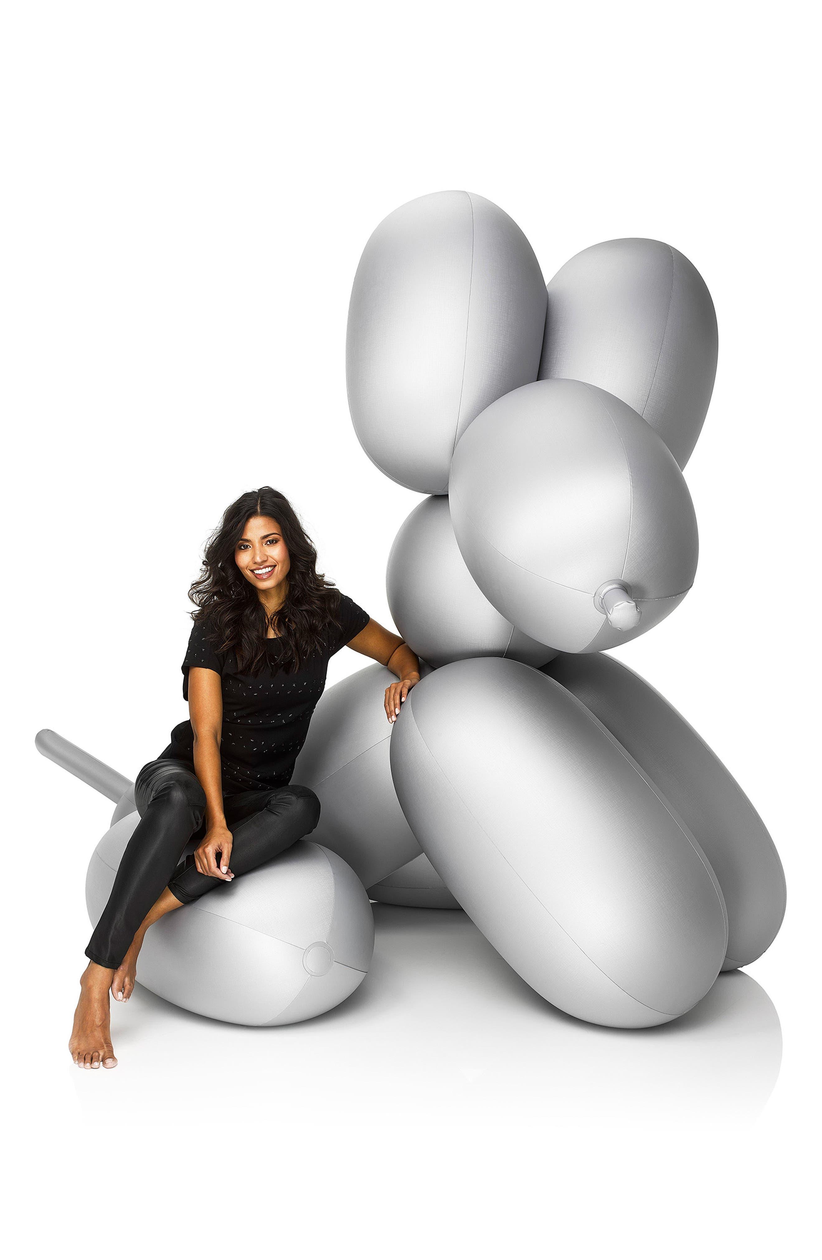 Big Dog Inflatable Decoration,                             Alternate thumbnail 2, color,                             Anthracite
