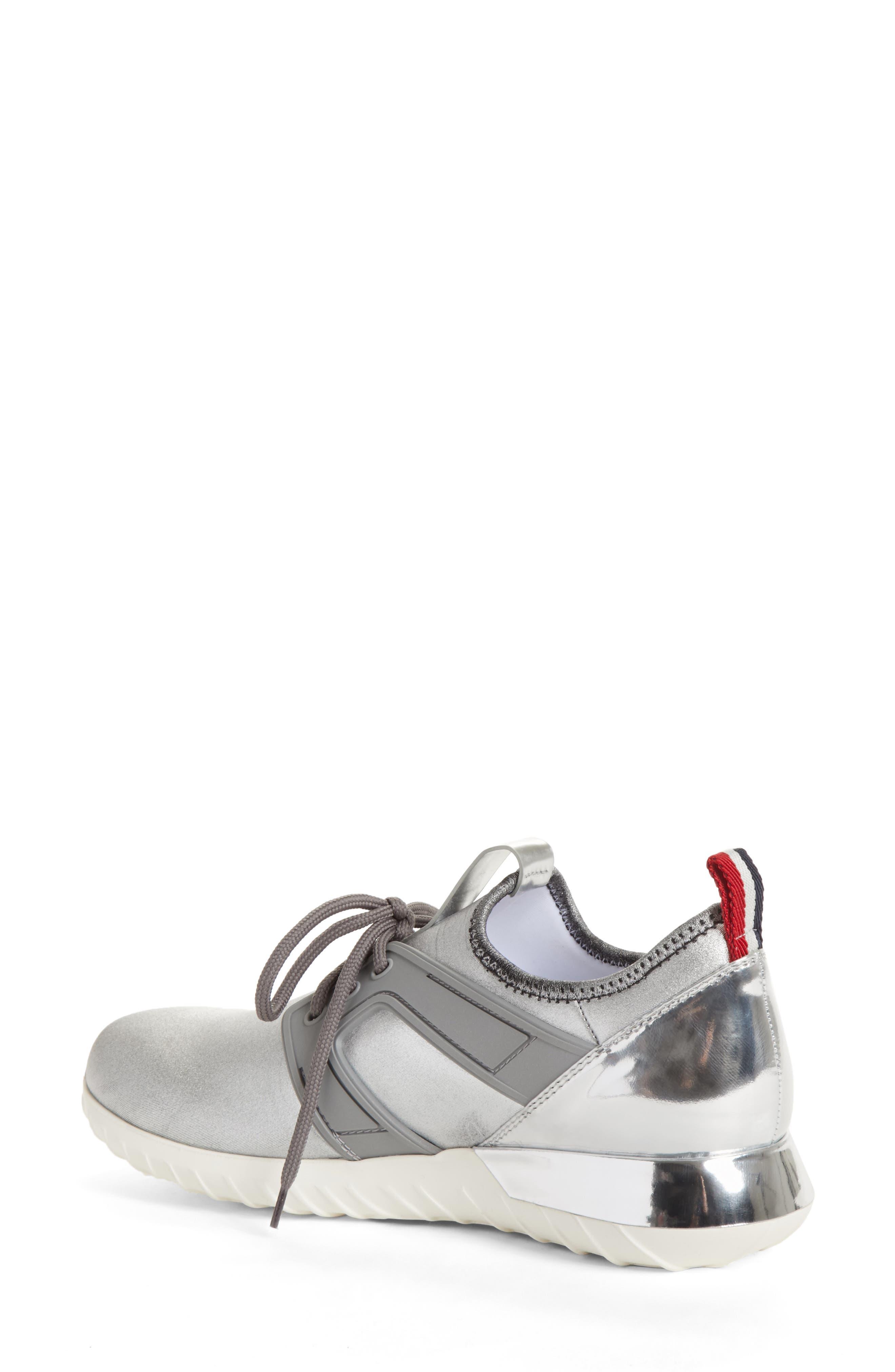 Meline Runner Sneaker,                             Alternate thumbnail 2, color,                             Silver