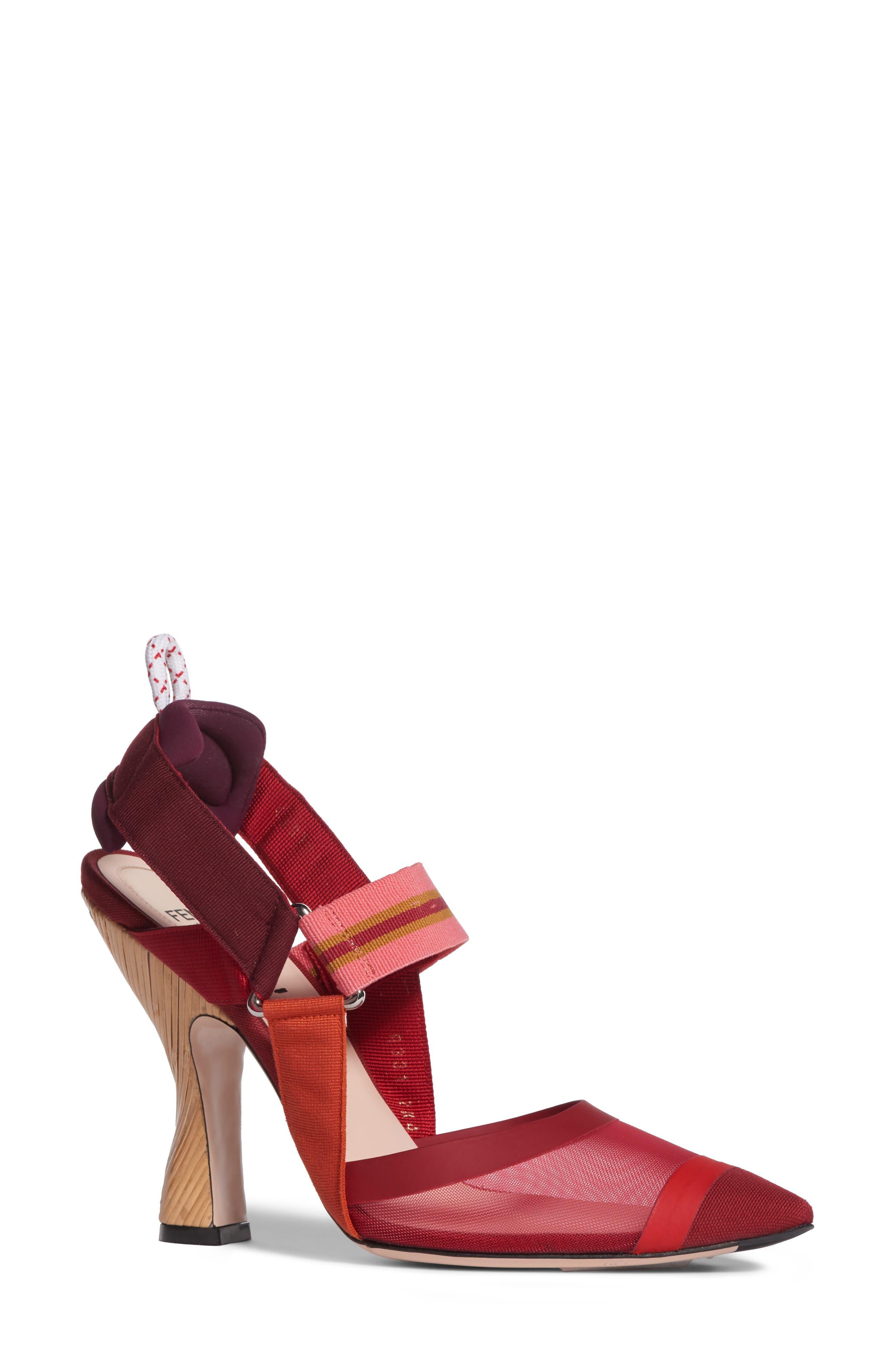 Fendi Women's Pointy Toe Pump nKkYiOP4Q2