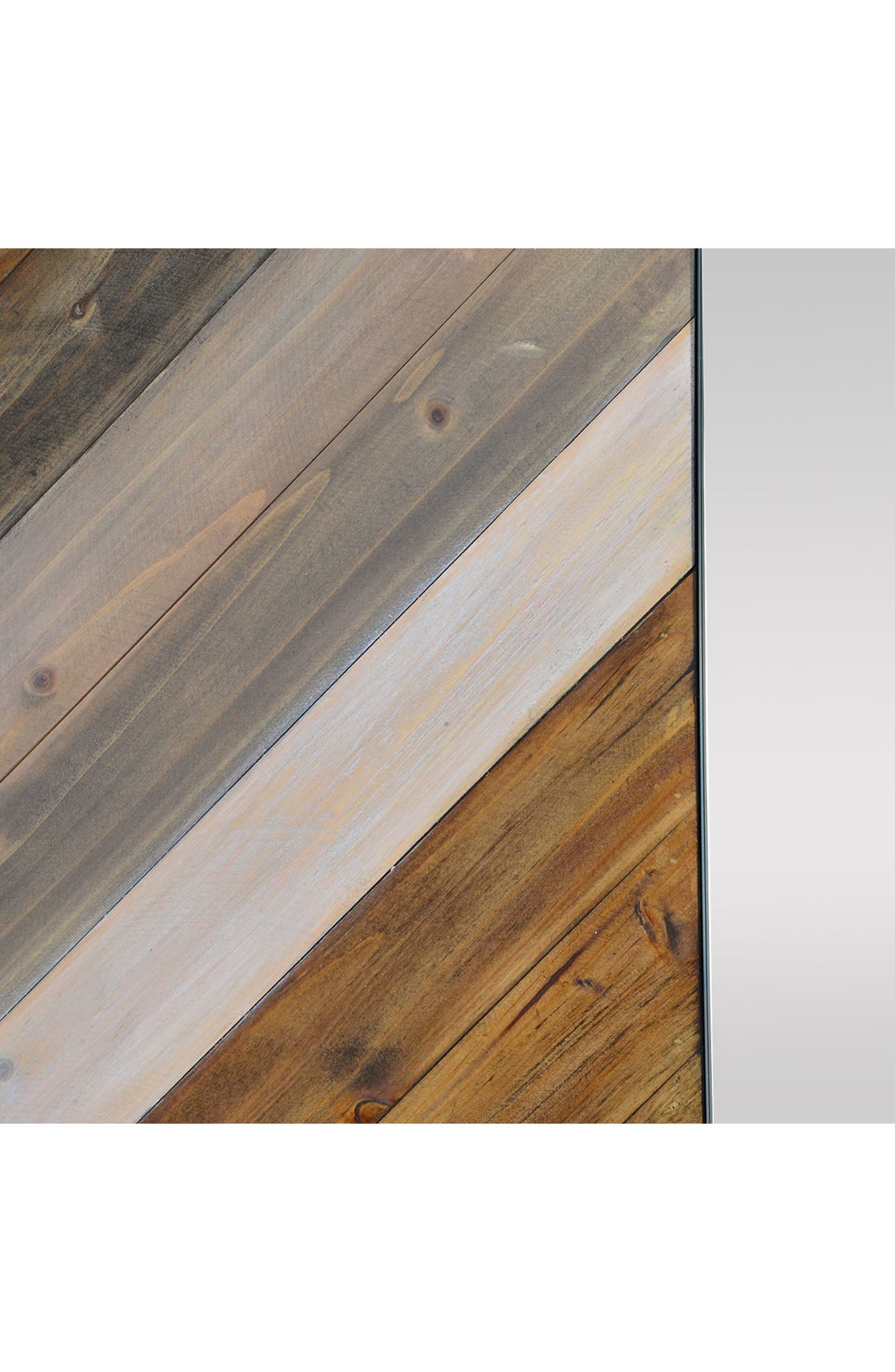 Diptych Mirror,                             Alternate thumbnail 3, color,                             Natural Wood