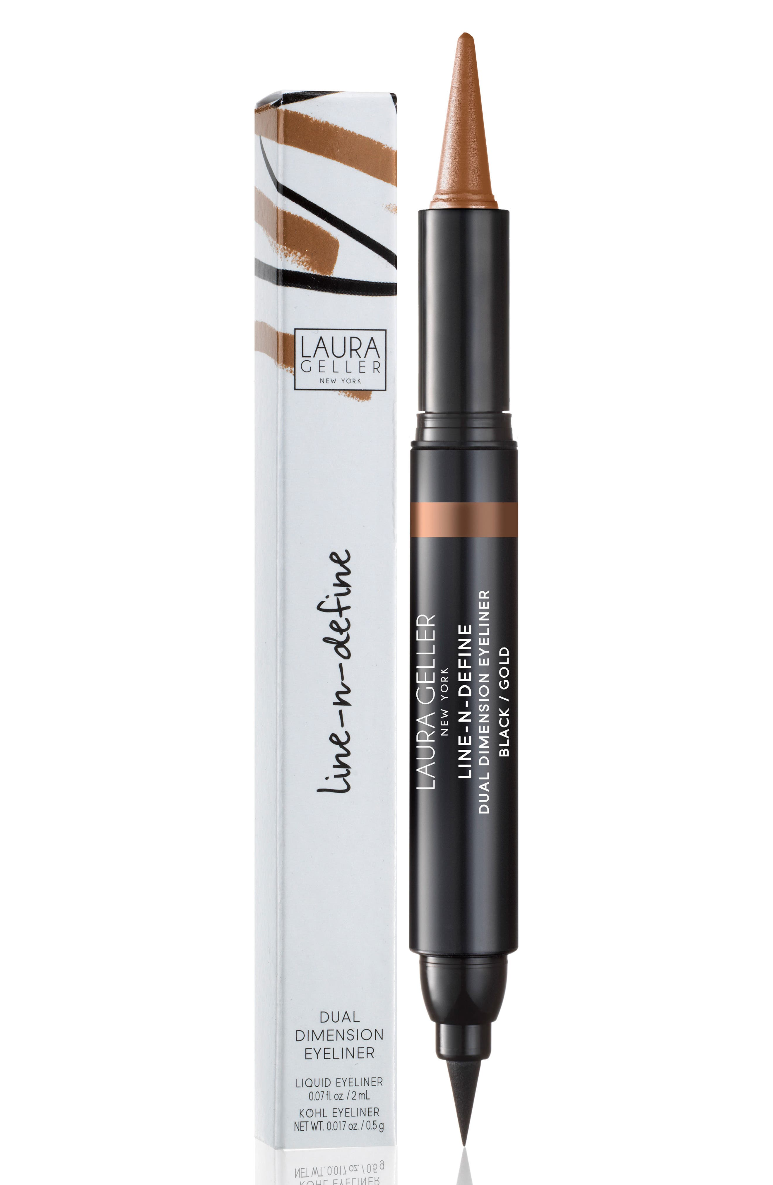 Line-N-Define Dual Dimension Eyeliner,                             Alternate thumbnail 2, color,                             Black