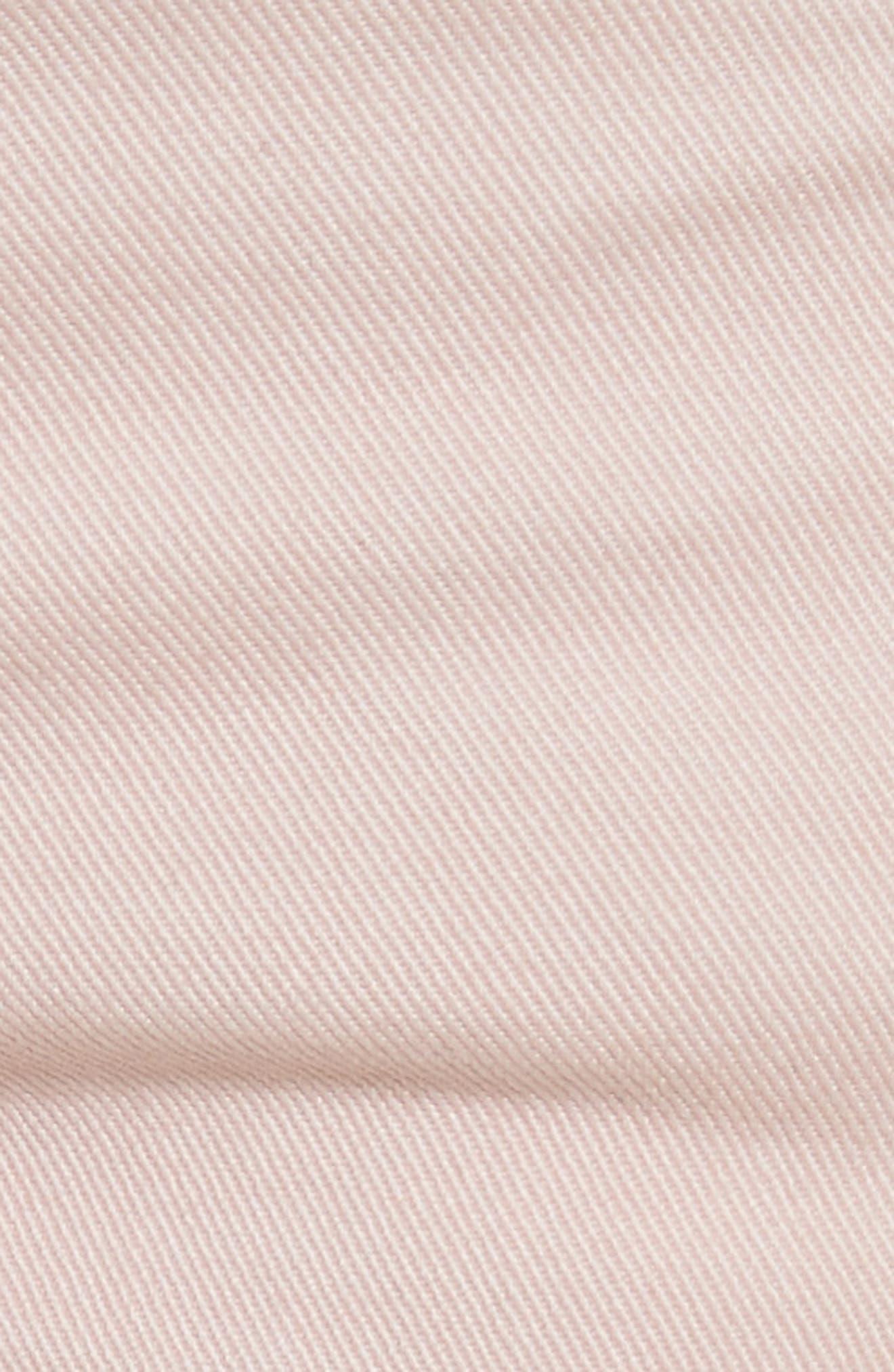 Alternate Image 5  - rag & bone/JEAN Justine High Waist Trouser Jeans (Blush Twill)