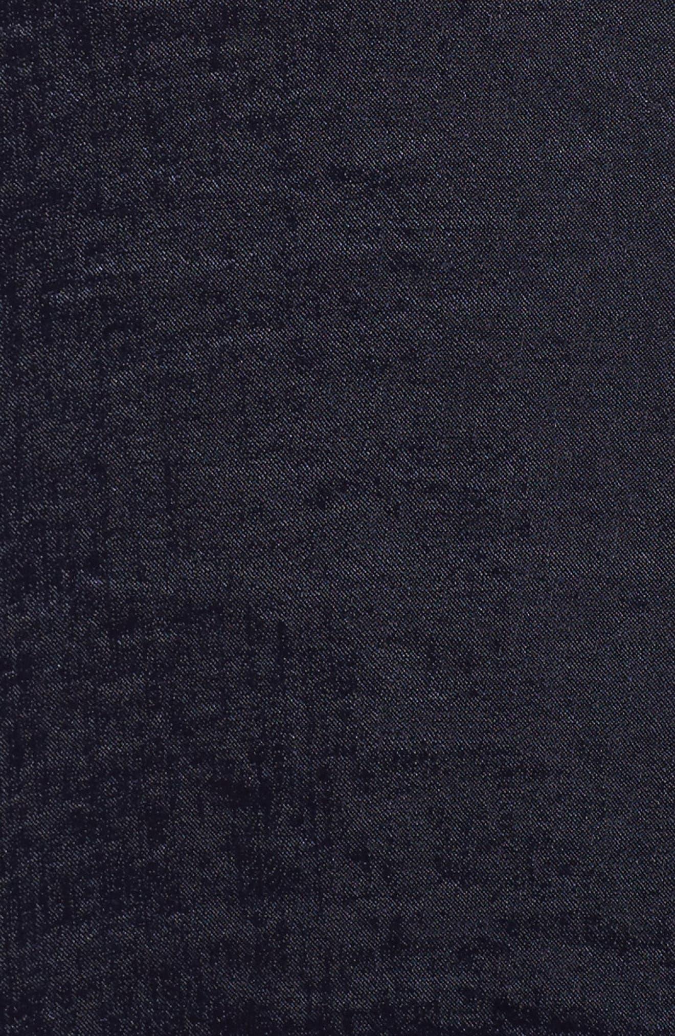 Alternate Image 5  - SLINK Jeans Hammered Satin Tunic Shirt (Plus Size)