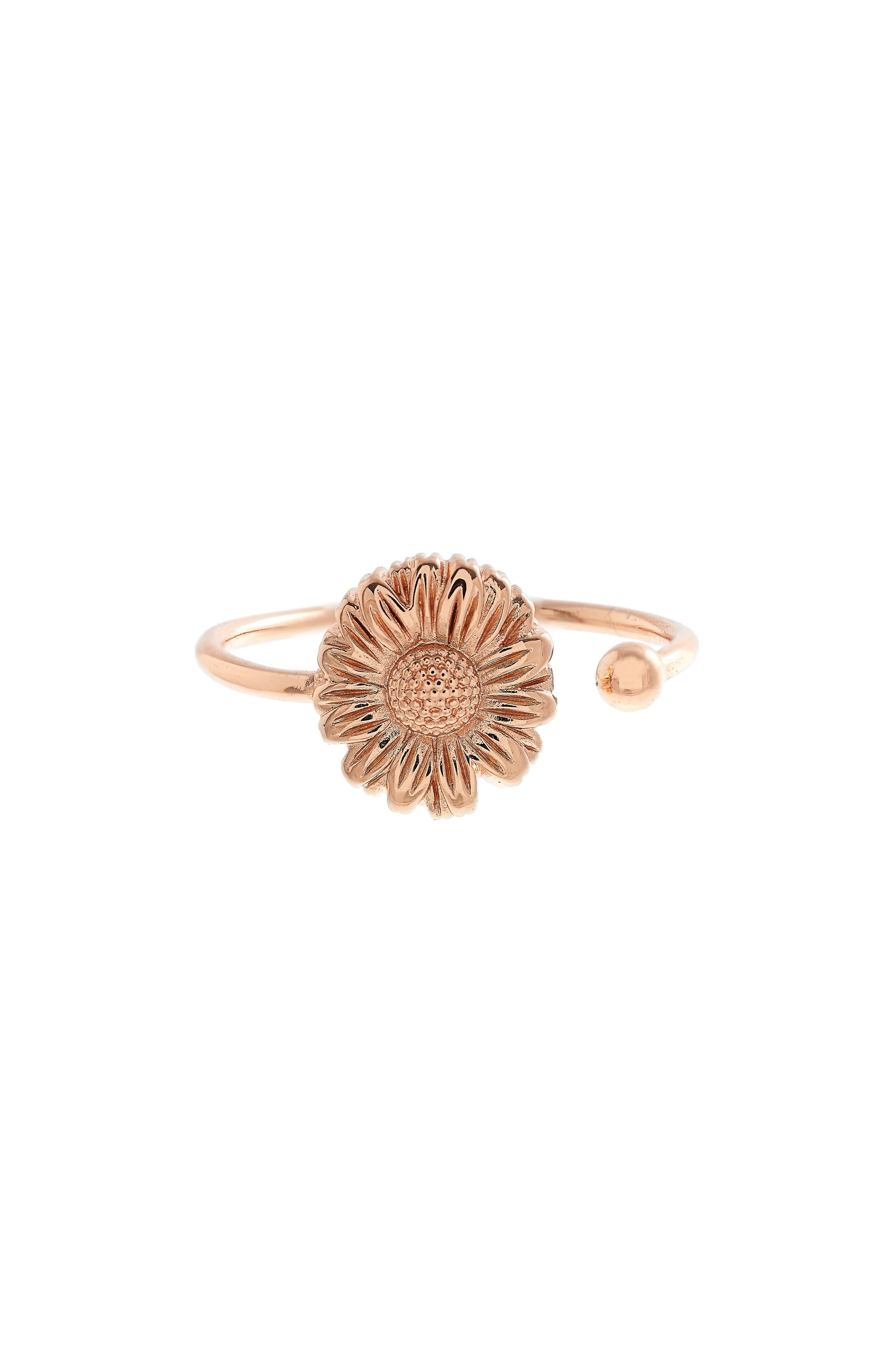 Daisy Ring,                         Main,                         color, Rose Gold
