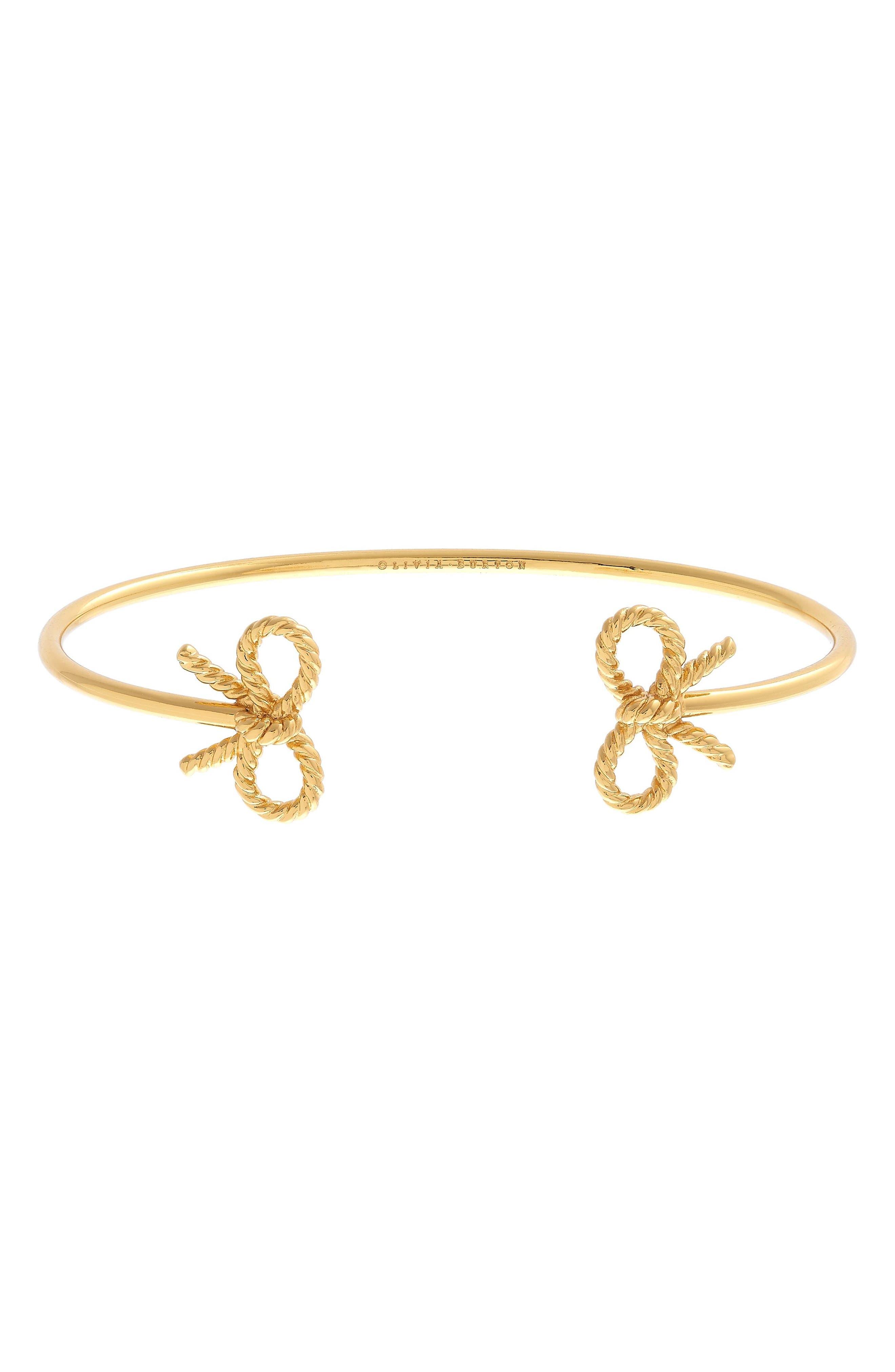 Main Image - Olivia Burton Bow Open Bangle Bracelet