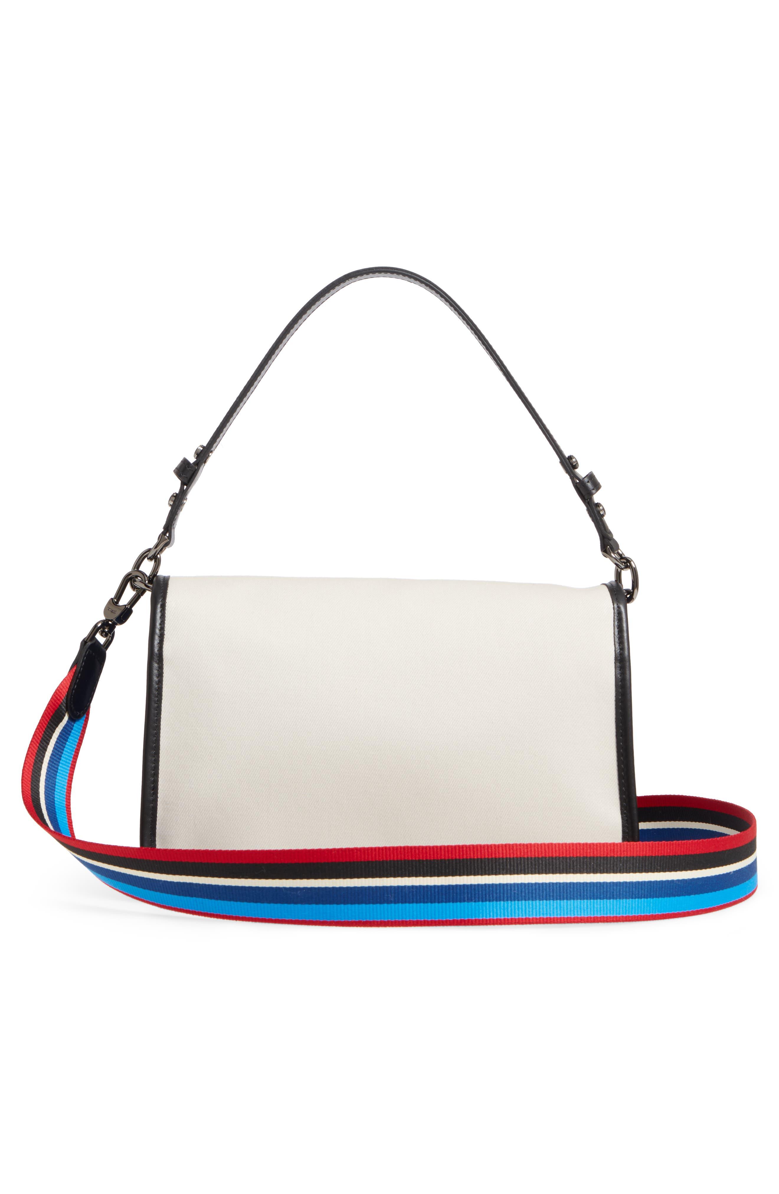 Alternate Image 3  - Longchamp Mademoiselle Gabardine Canvas Shoulder Bag