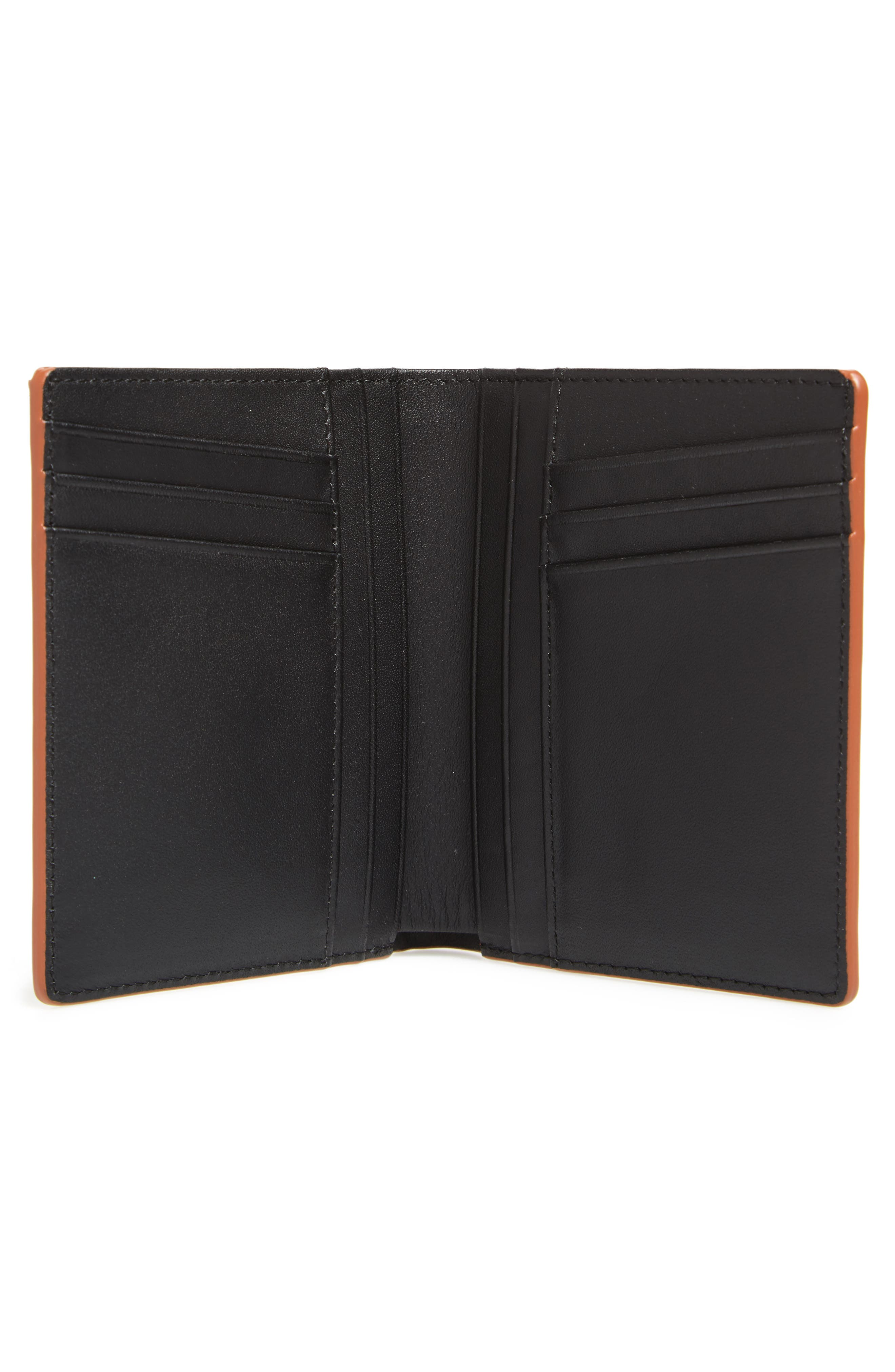 Bradley Bifold Leather Wallet,                             Alternate thumbnail 2, color,                             Multi Sand