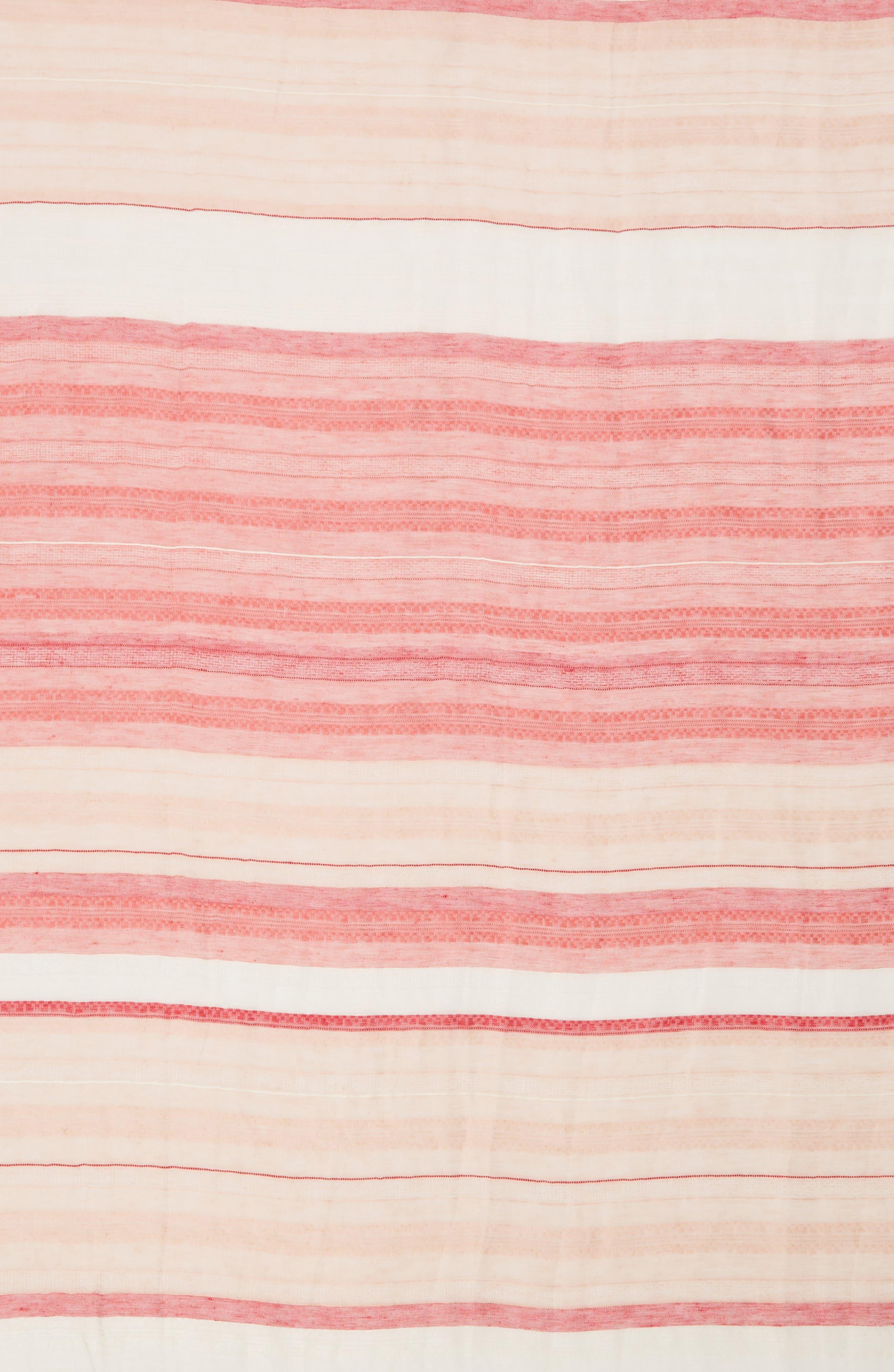 Alternate Image 4  - Caslon® Stripe Scarf