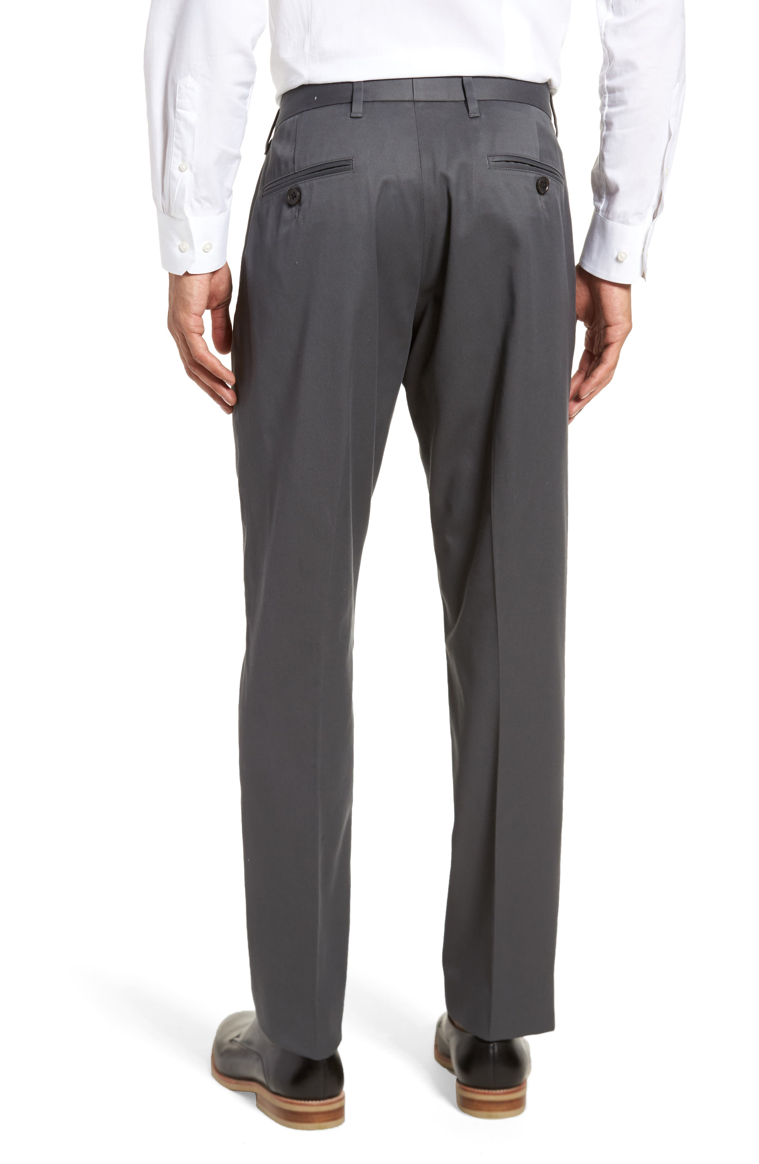 Alternate Image 2  - Nordstrom Men's Shop Athletic Fit Non-Iron Chinos