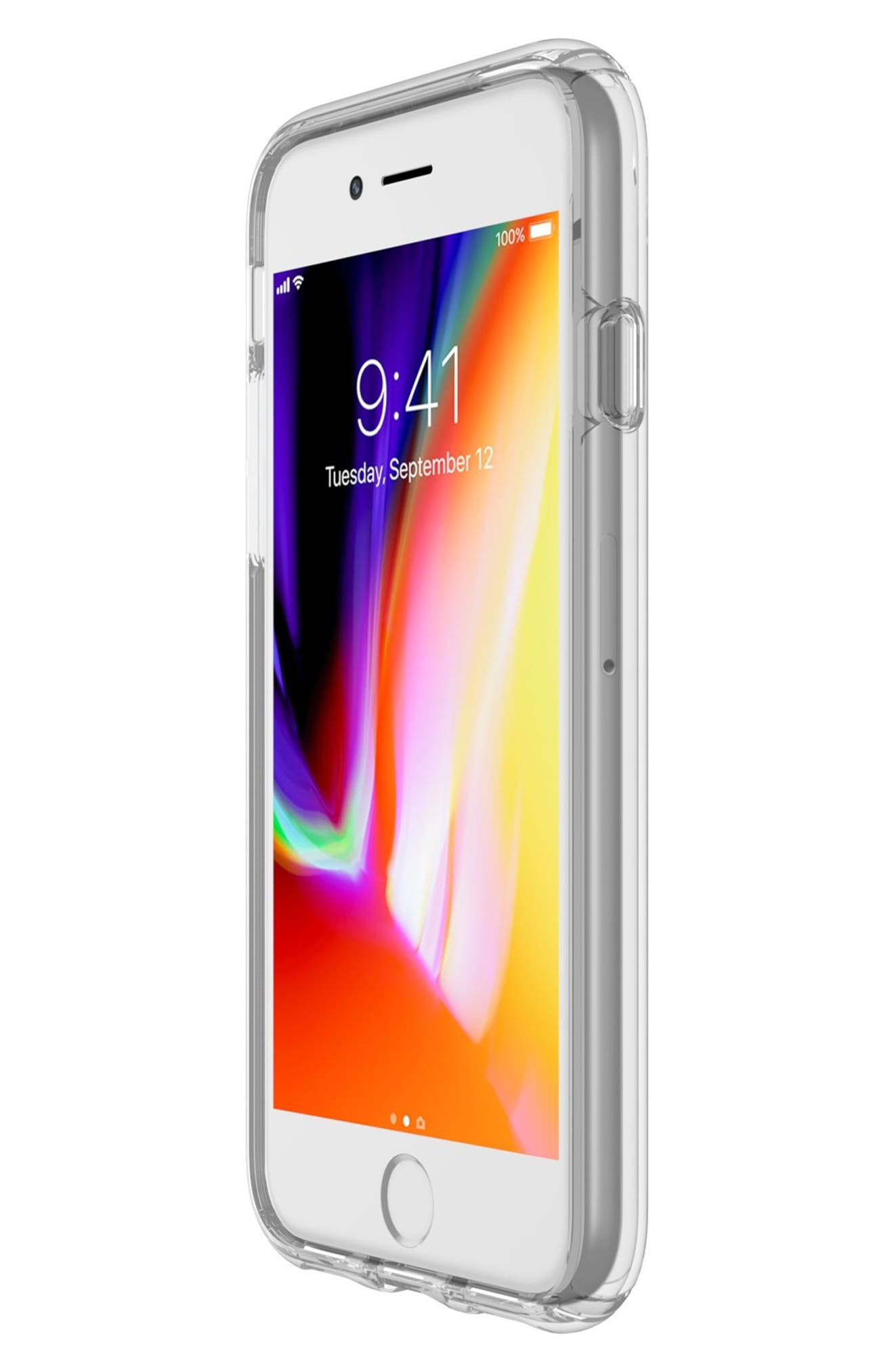 Transparent iPhone 6/6s/7/8 Case,                             Alternate thumbnail 7, color,                             Clear/ Clear