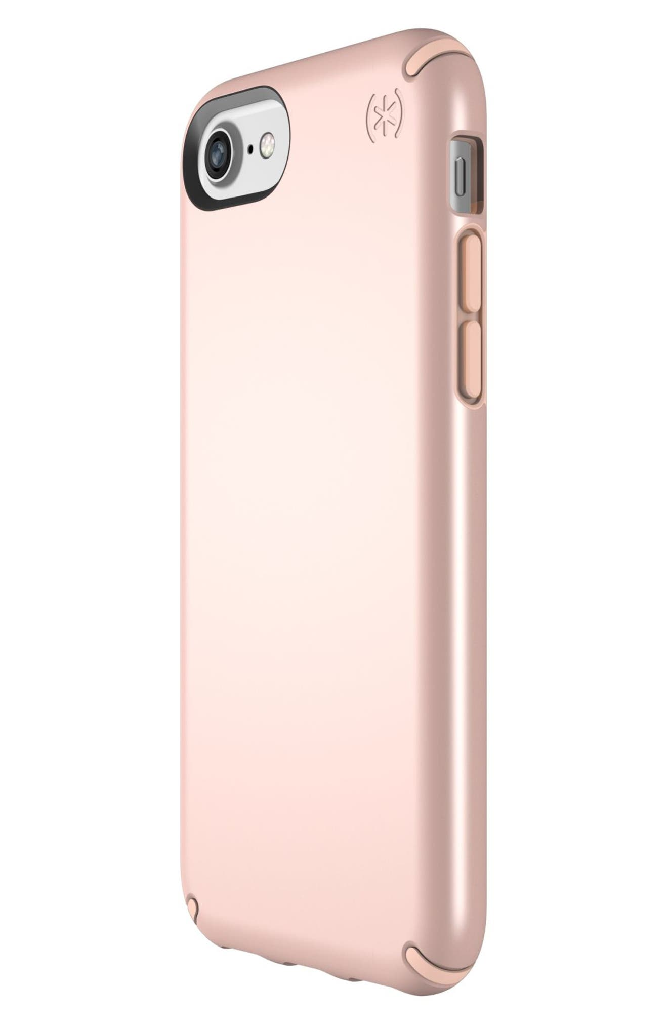 iPhone 6/6s/7/8 Case,                             Alternate thumbnail 3, color,                             Rose Gold Metallic/ Peach