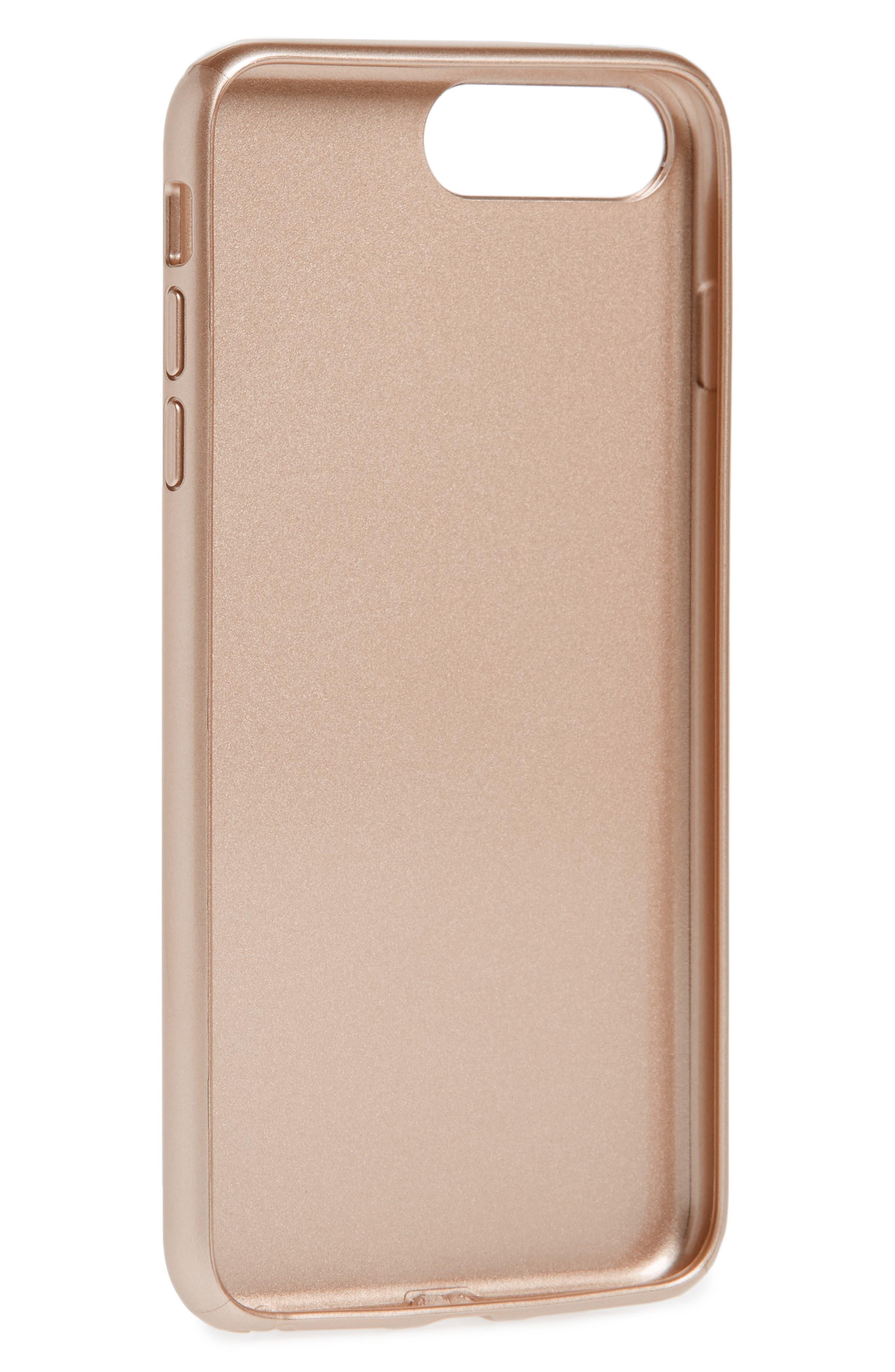 Tiger Ring Aluminum iPhone 7 Plus Case,                             Alternate thumbnail 2, color,                             Gold