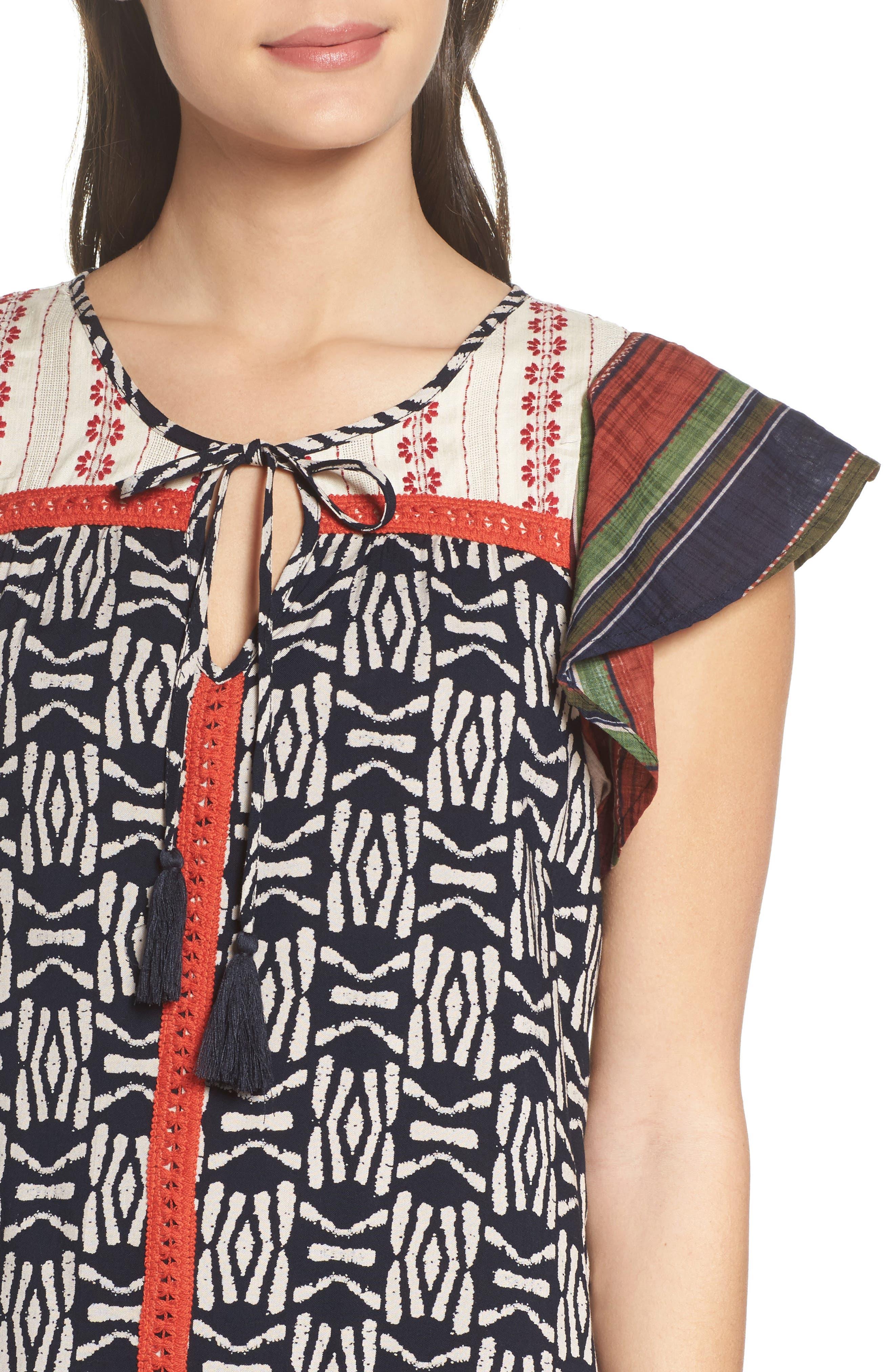 Alternate Image 4  - THML Drop Waist Dress