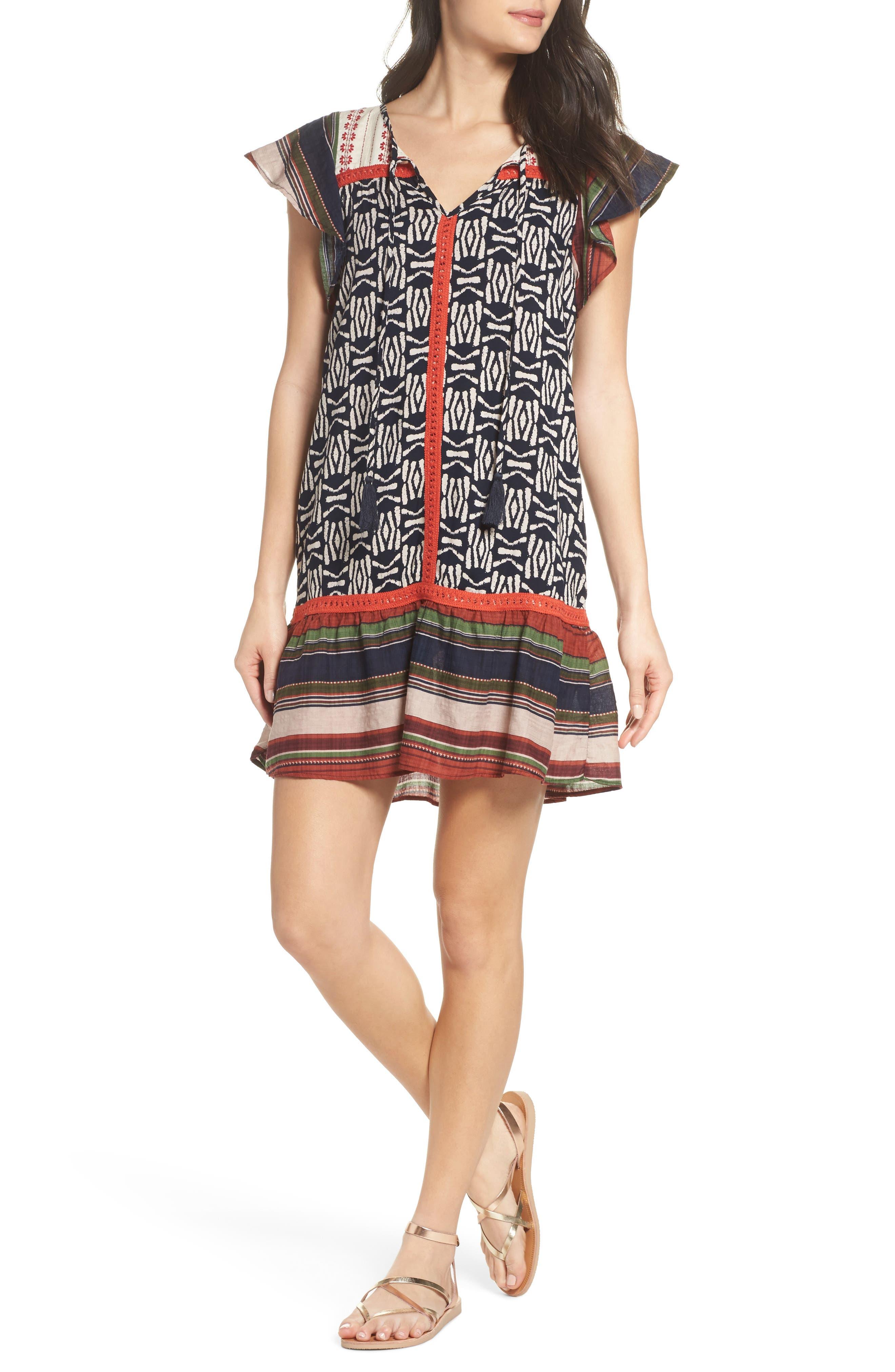 Alternate Image 1 Selected - THML Drop Waist Dress