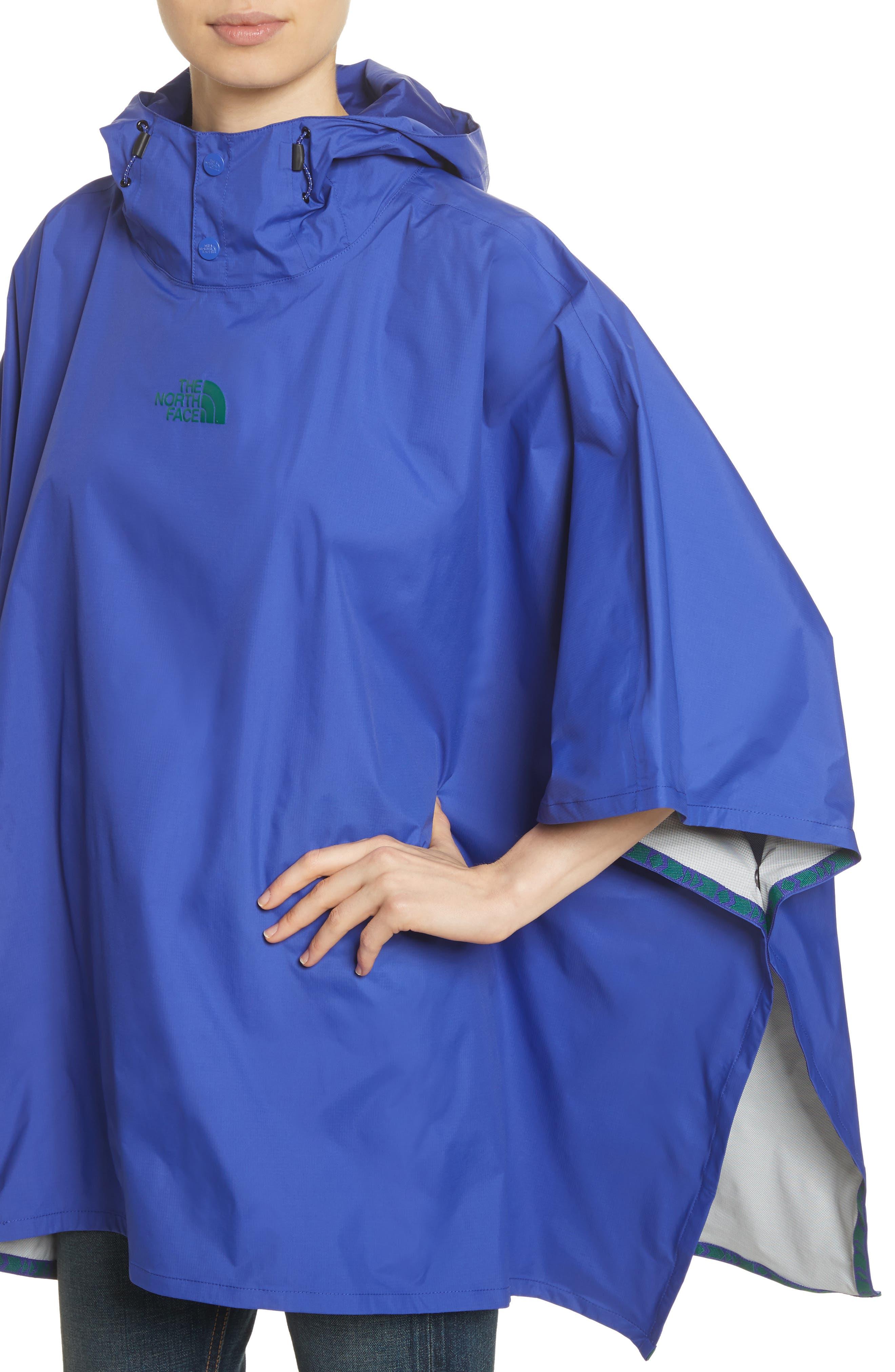 Unisex Rain Poncho,                             Alternate thumbnail 5, color,                             Lapis Blue