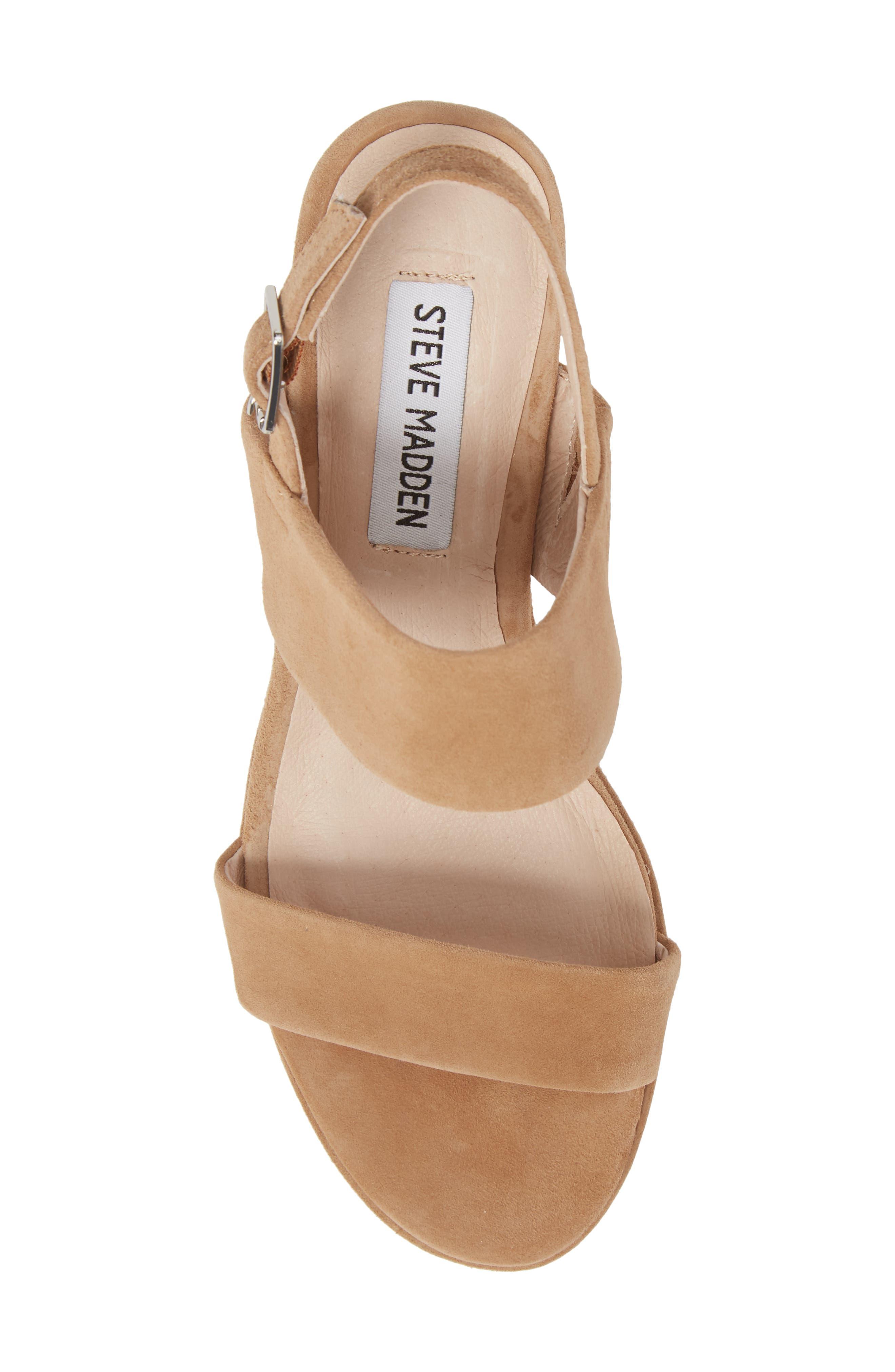 Alternate Image 5  - Steve Madden Reba Slingback Platform Sandal (Women)