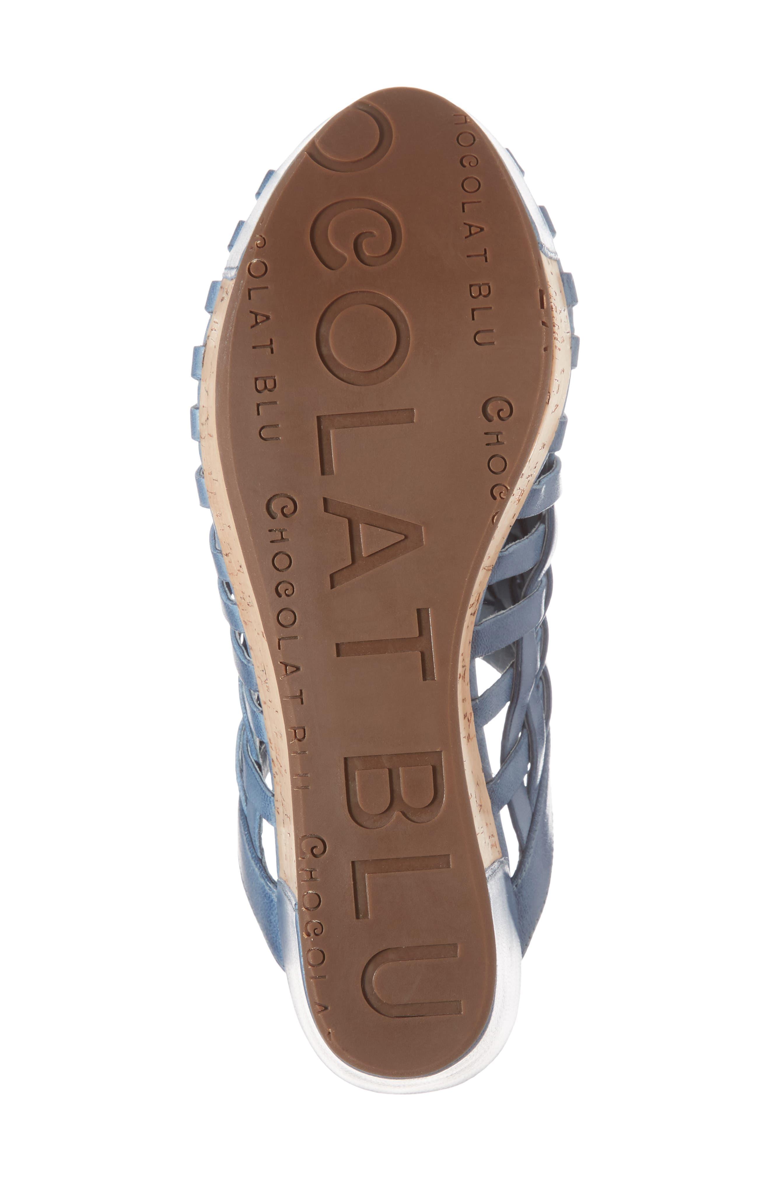 Alternate Image 6  - Chocolat Blu Walda Platform Wedge Sandal (Women)