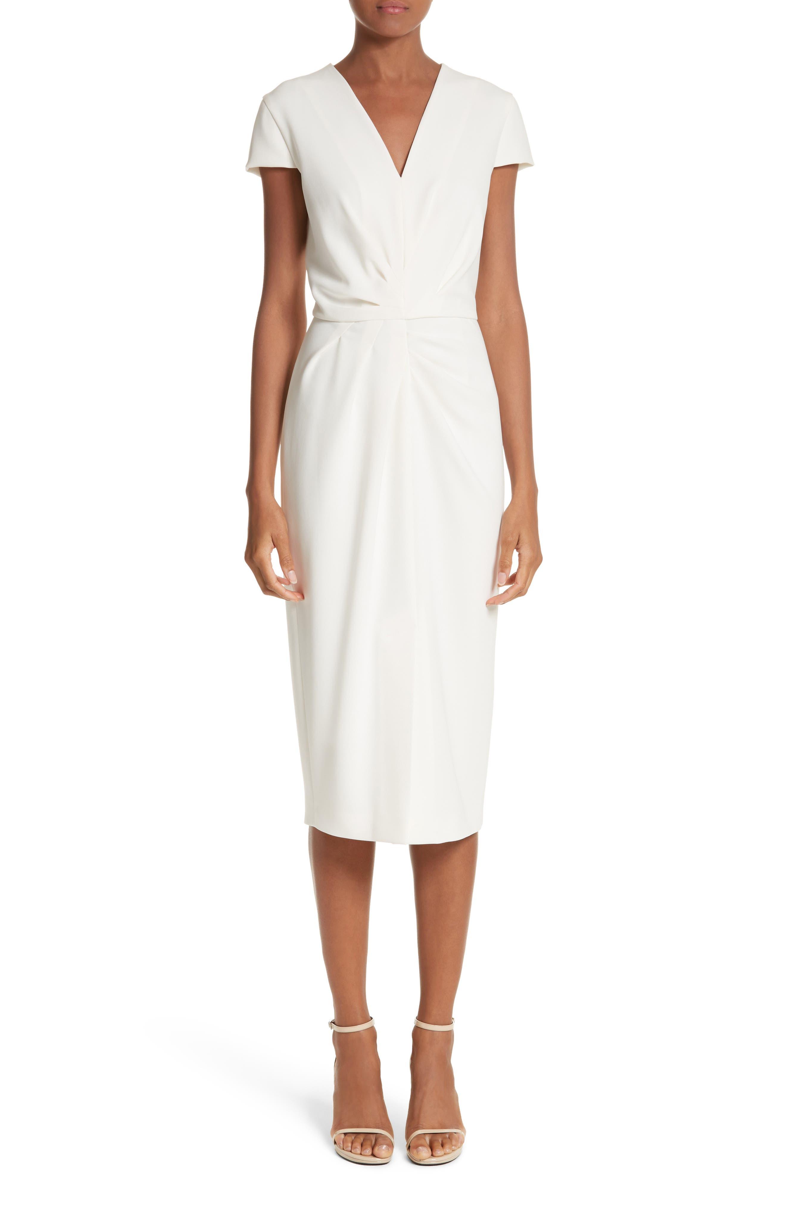Main Image - Max Mara Full Drape Midi Dress