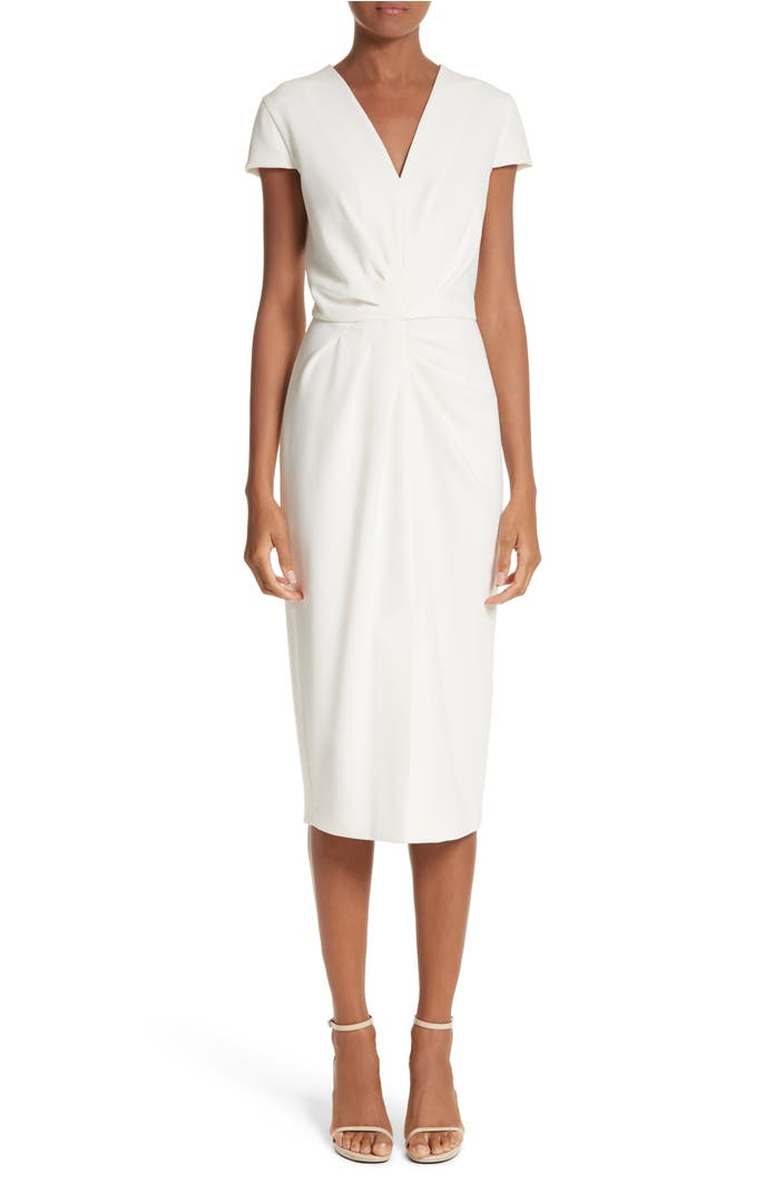 Main Image - Max Mara Full Drape Midi Dress