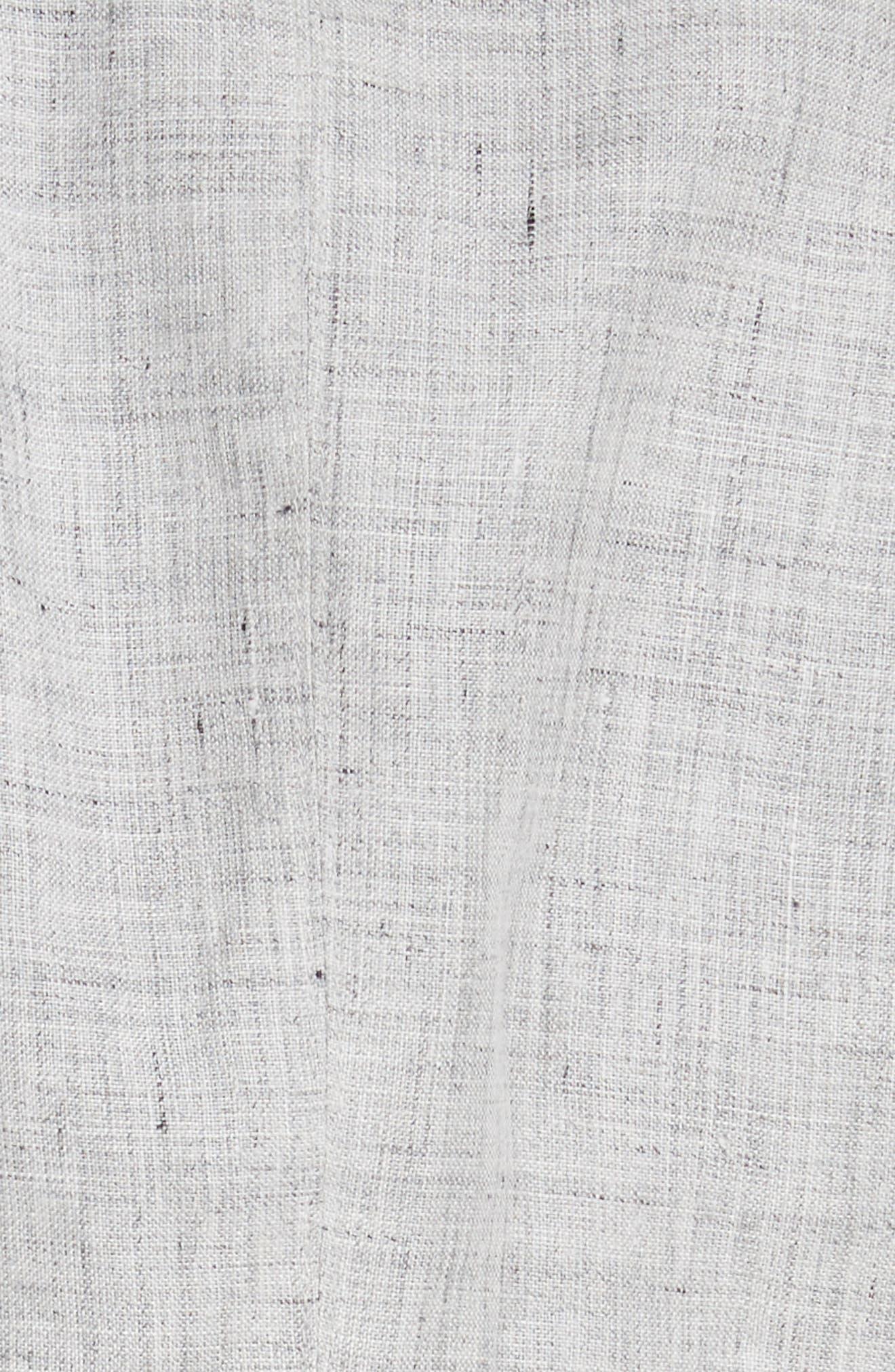 Vello Linen Blazer,                             Alternate thumbnail 6, color,                             Light Grey