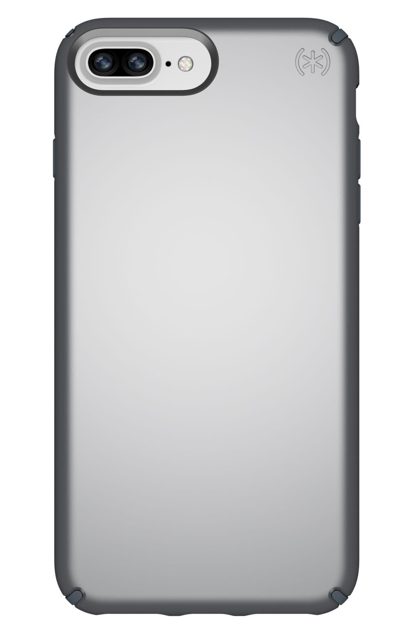 iPhone 6/6s/7/8 Case,                         Main,                         color, Tungsten Grey Metallic/ Grey