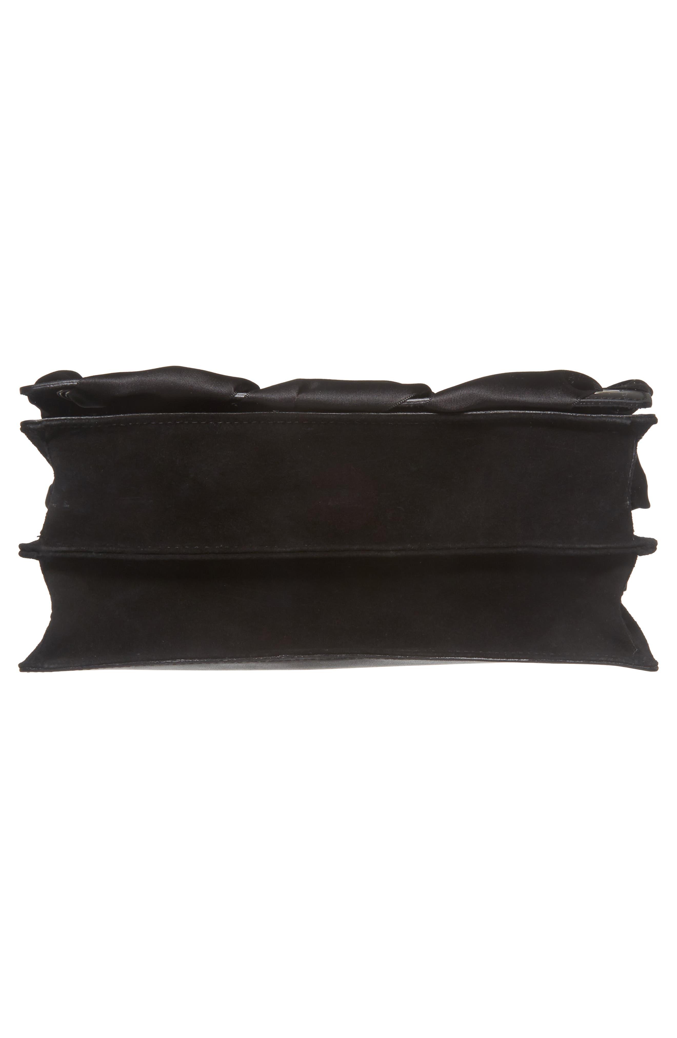 Alternate Image 4  - Topshop Premium Grace Leather Shoulder Bag