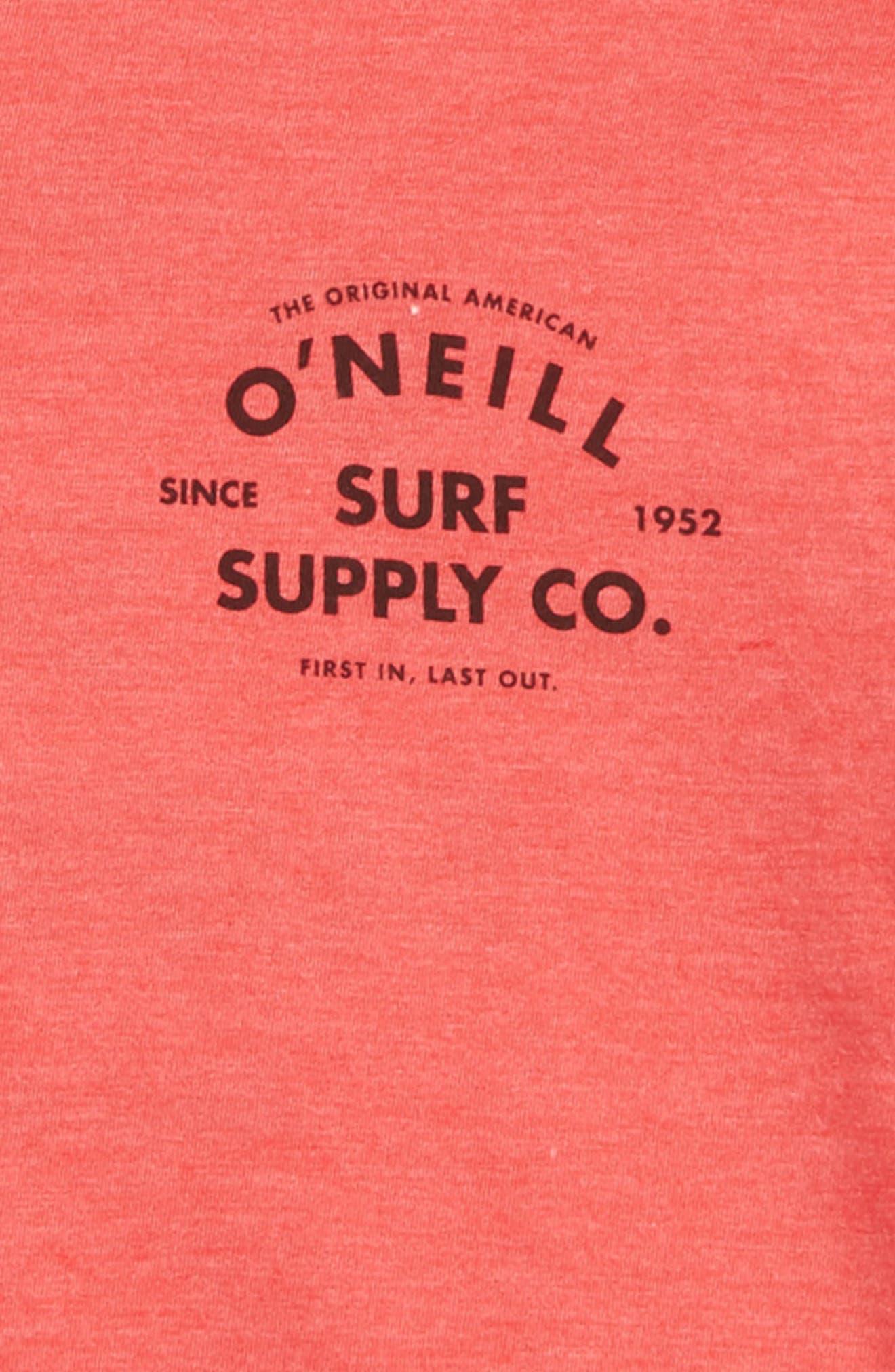 Alternate Image 3  - O'Neill Gonner Graphic T-Shirt (Big Boys)