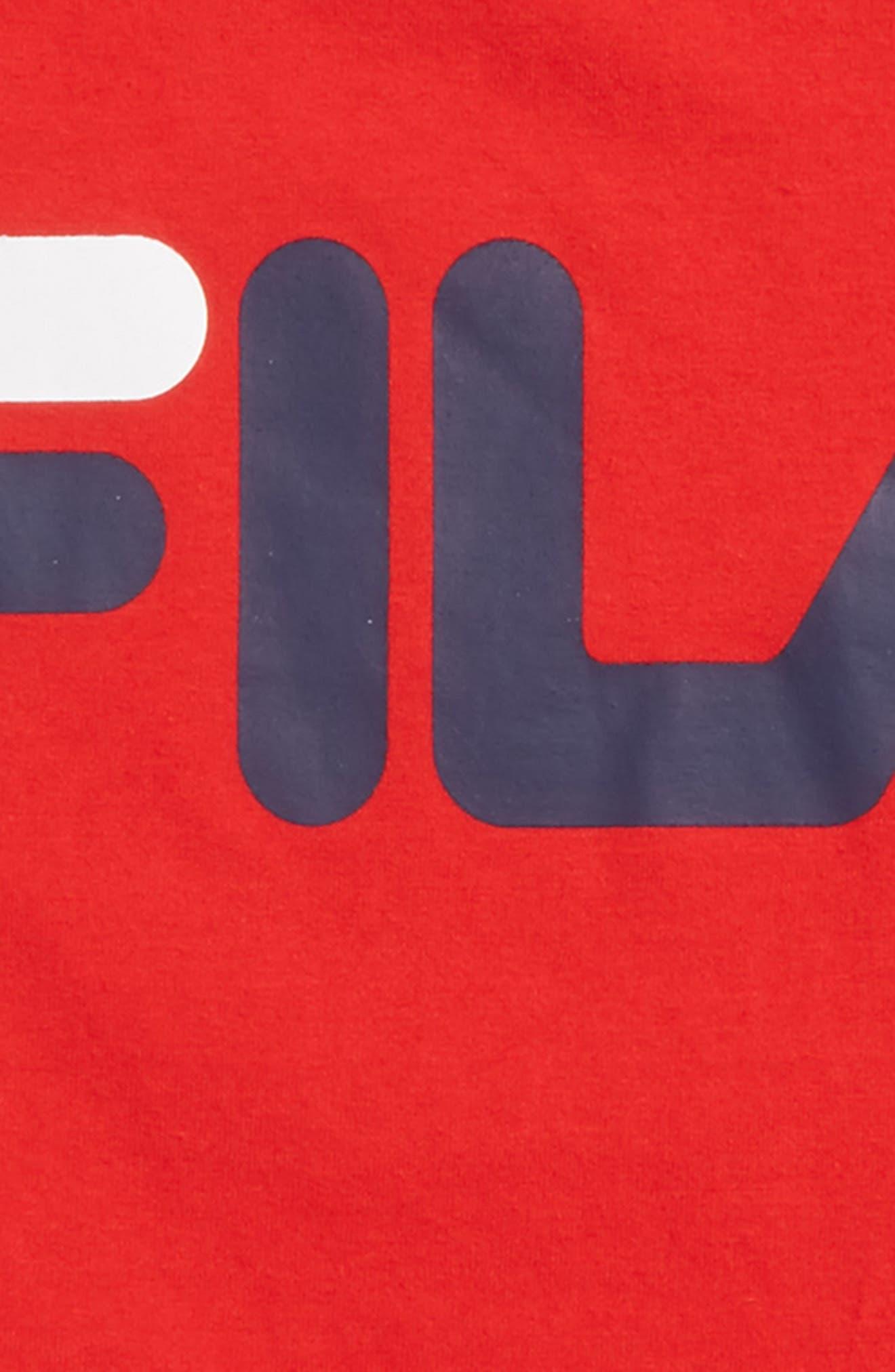 Alternate Image 2  - FILA Classic Logo T-Shirt (Big Boys)