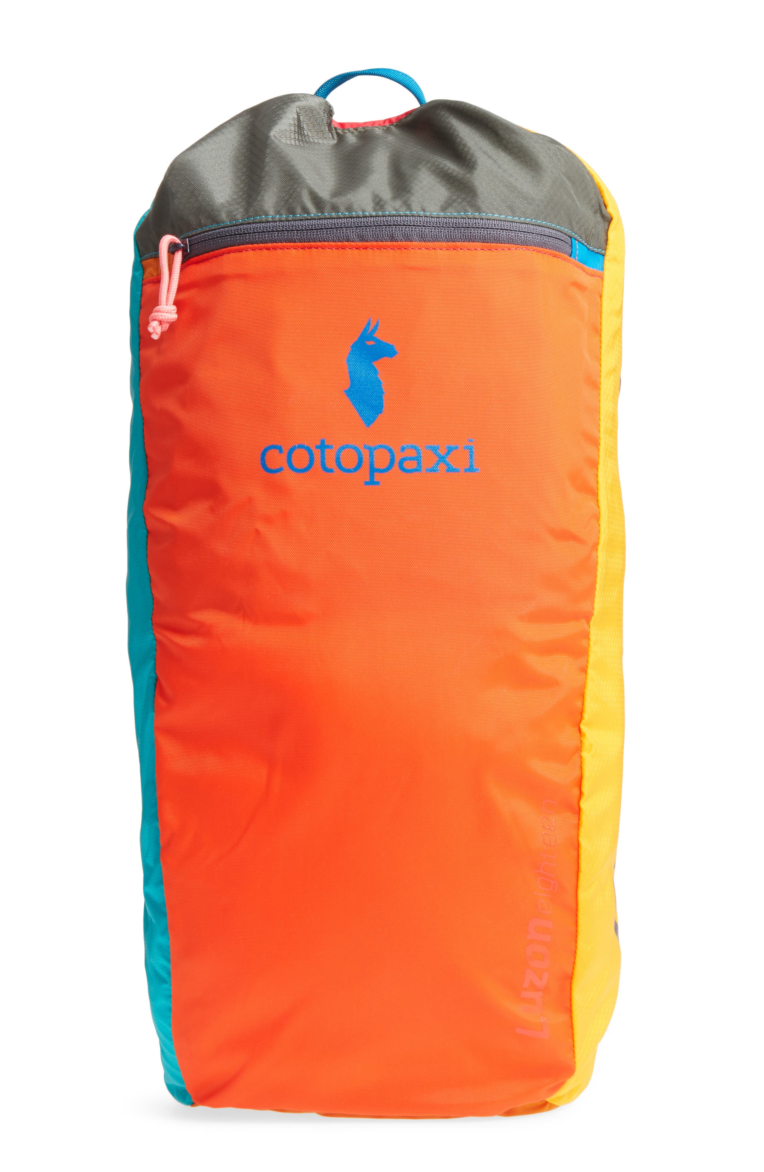 Cotopaxi Luzon Del Día One of a Kind Ripstop Nylon Daypack (18L)