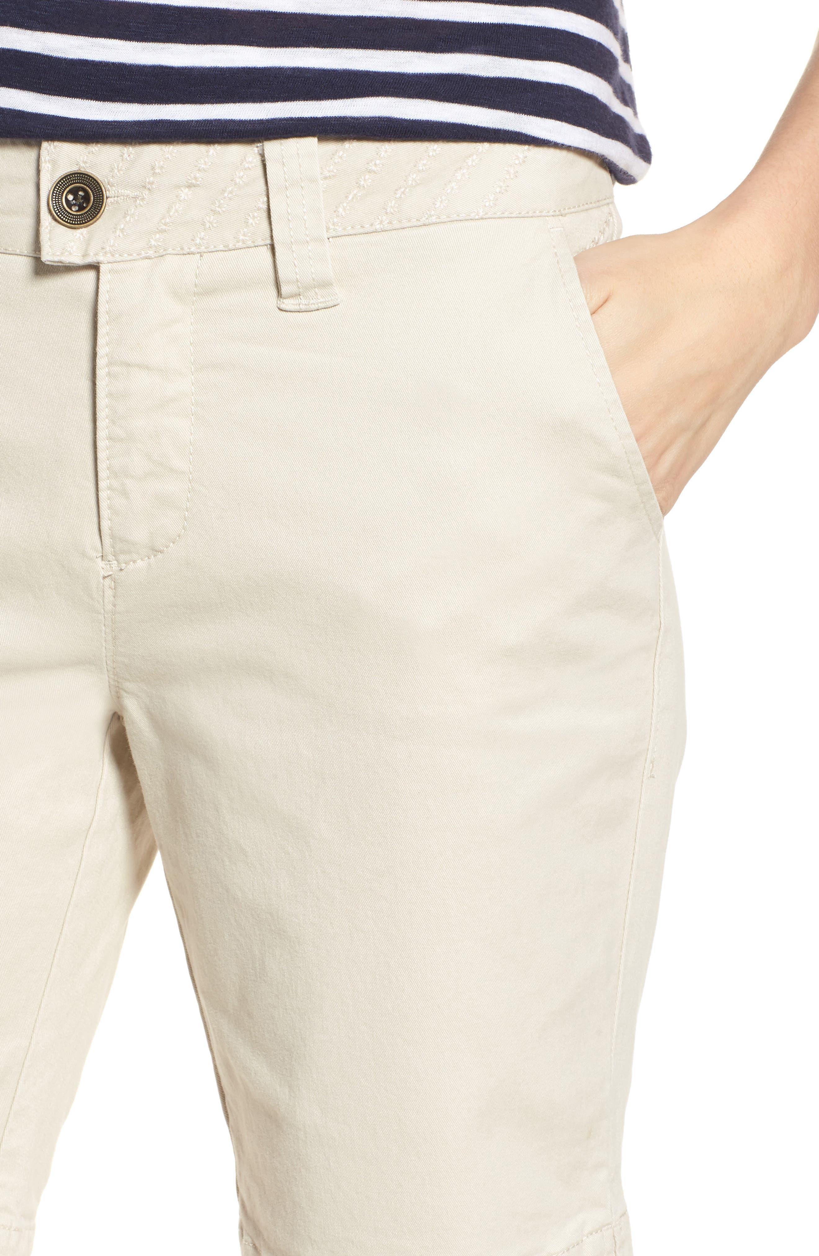 Creston Twill Shorts,                             Alternate thumbnail 4, color,                             Stone