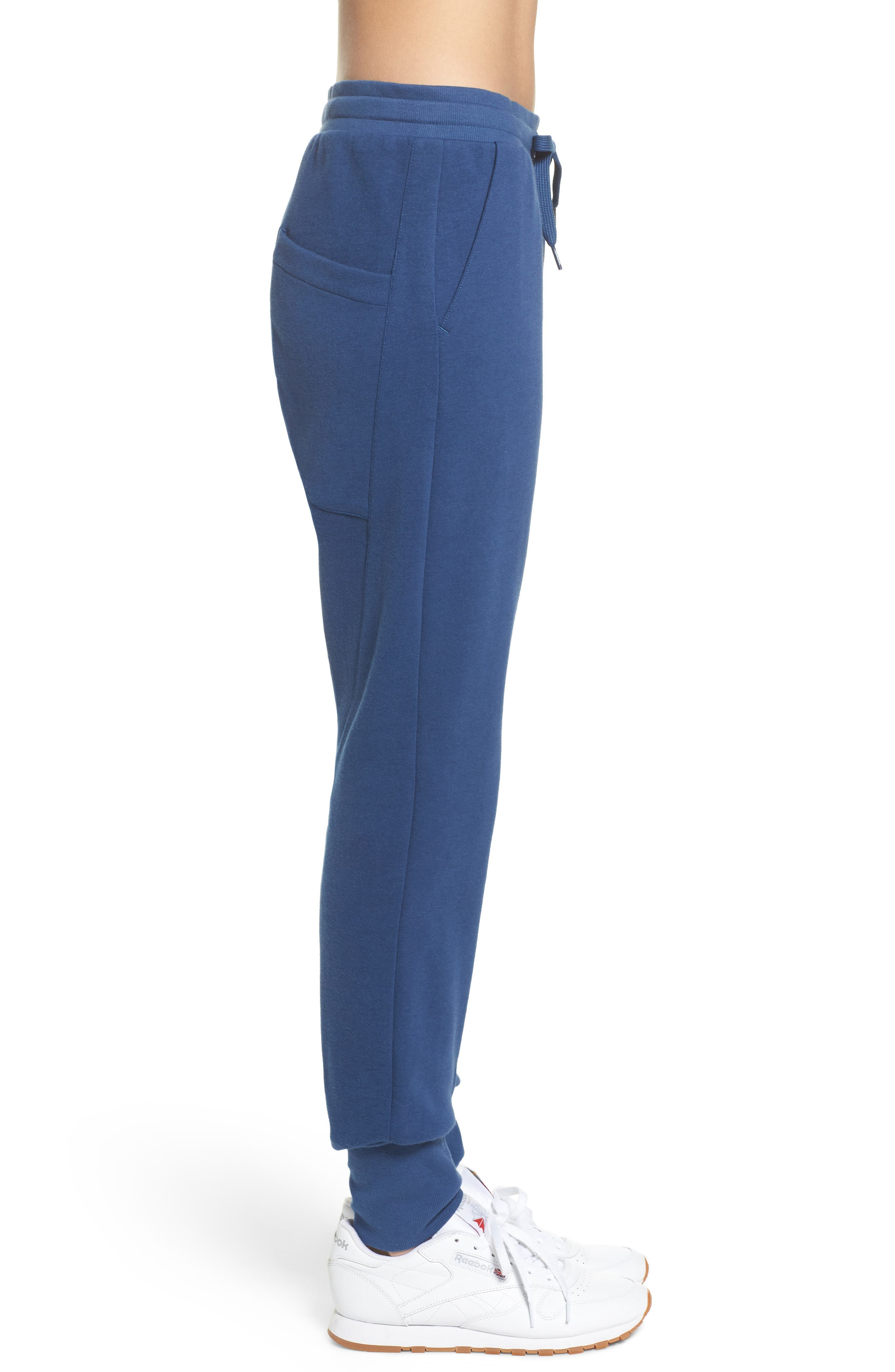 DC Jogger Pants,                             Alternate thumbnail 4, color,                             Washed Blue