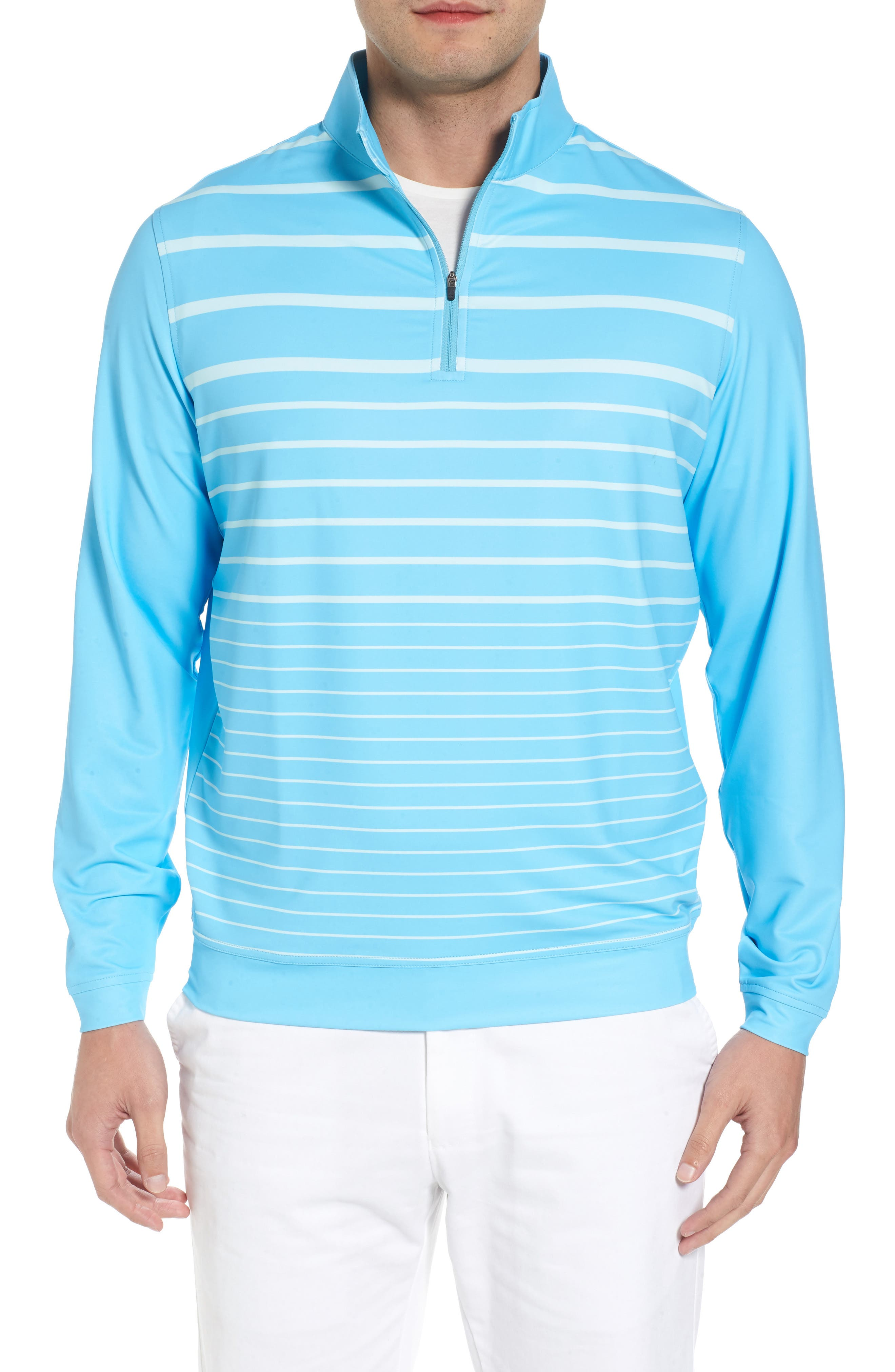 Peter Millar Perth Quarter Zip Performance Pullover