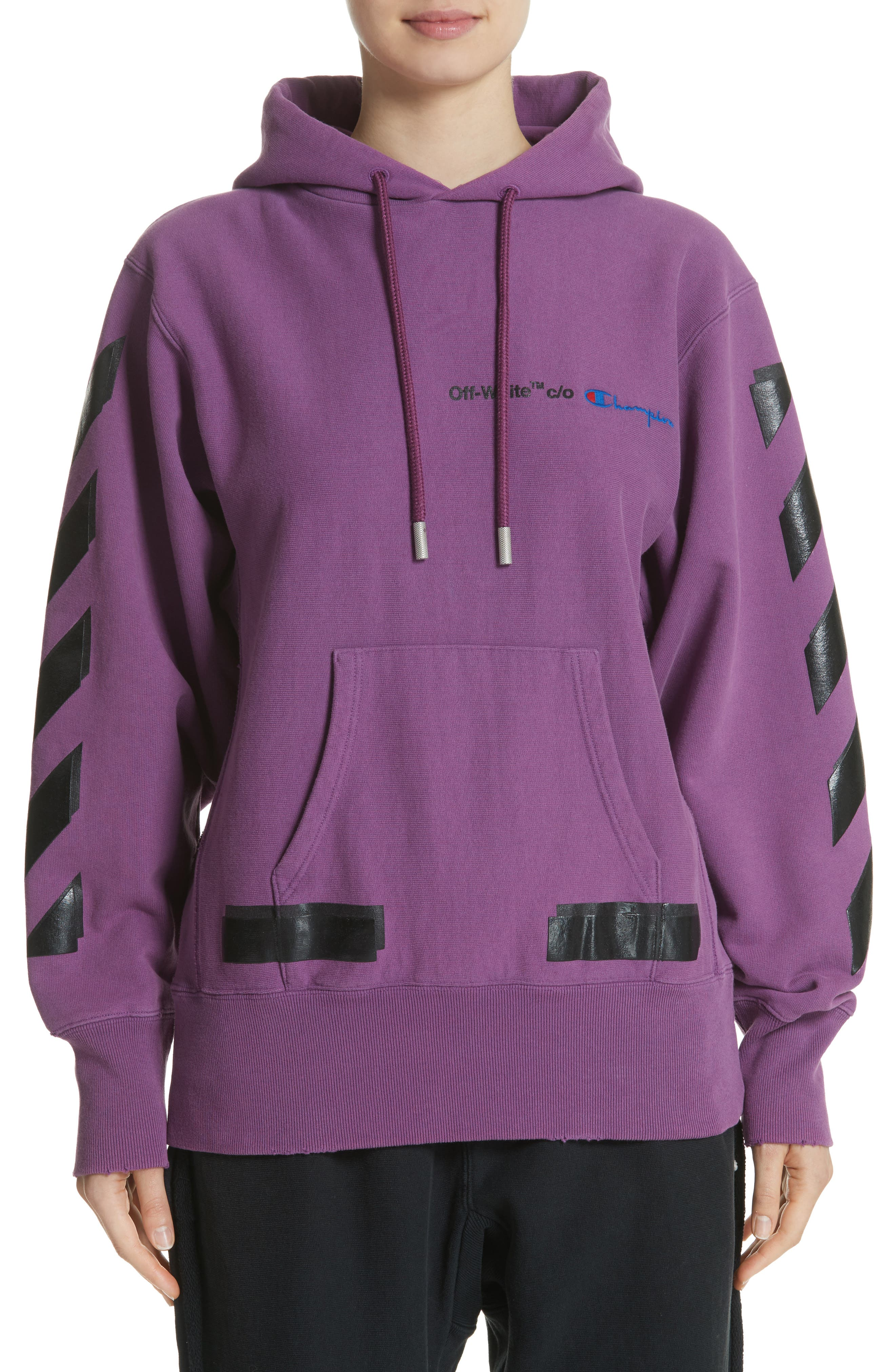 Off-White x Champion Pullover Hoodie