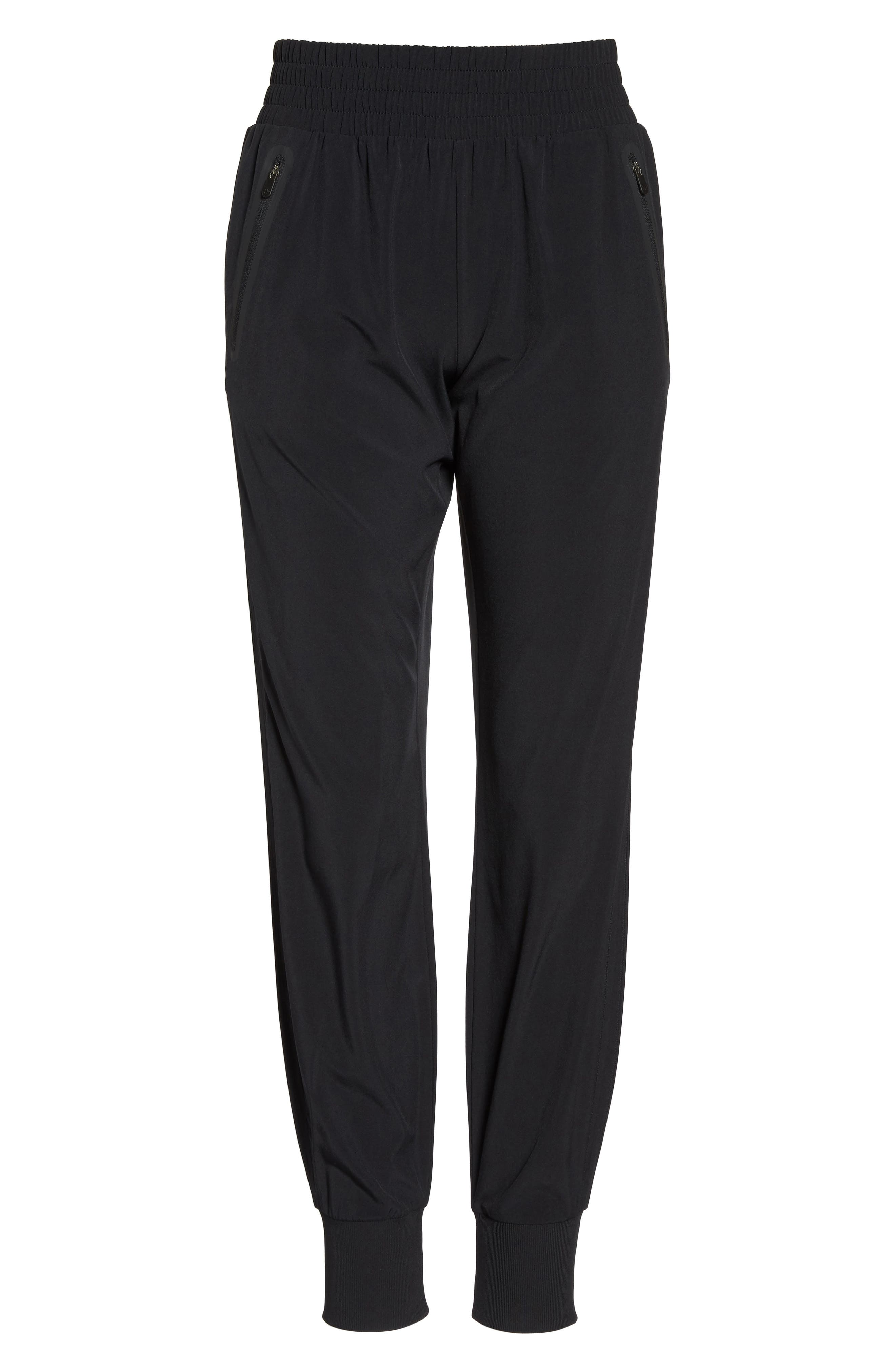 Everyday Pants,                             Alternate thumbnail 7, color,                             Black