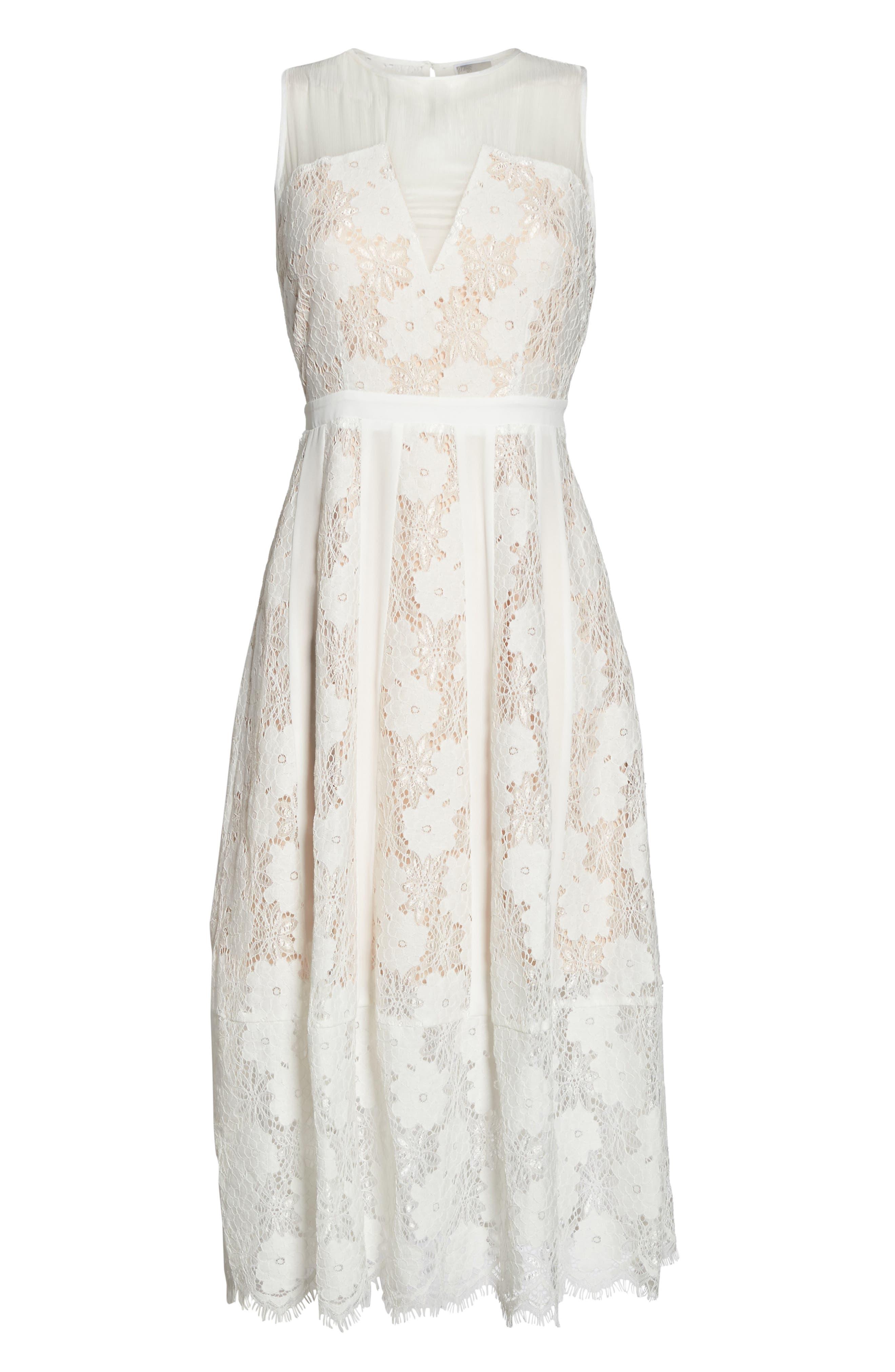 Alternate Image 6  - Chelsea28 Lace Midi Dress