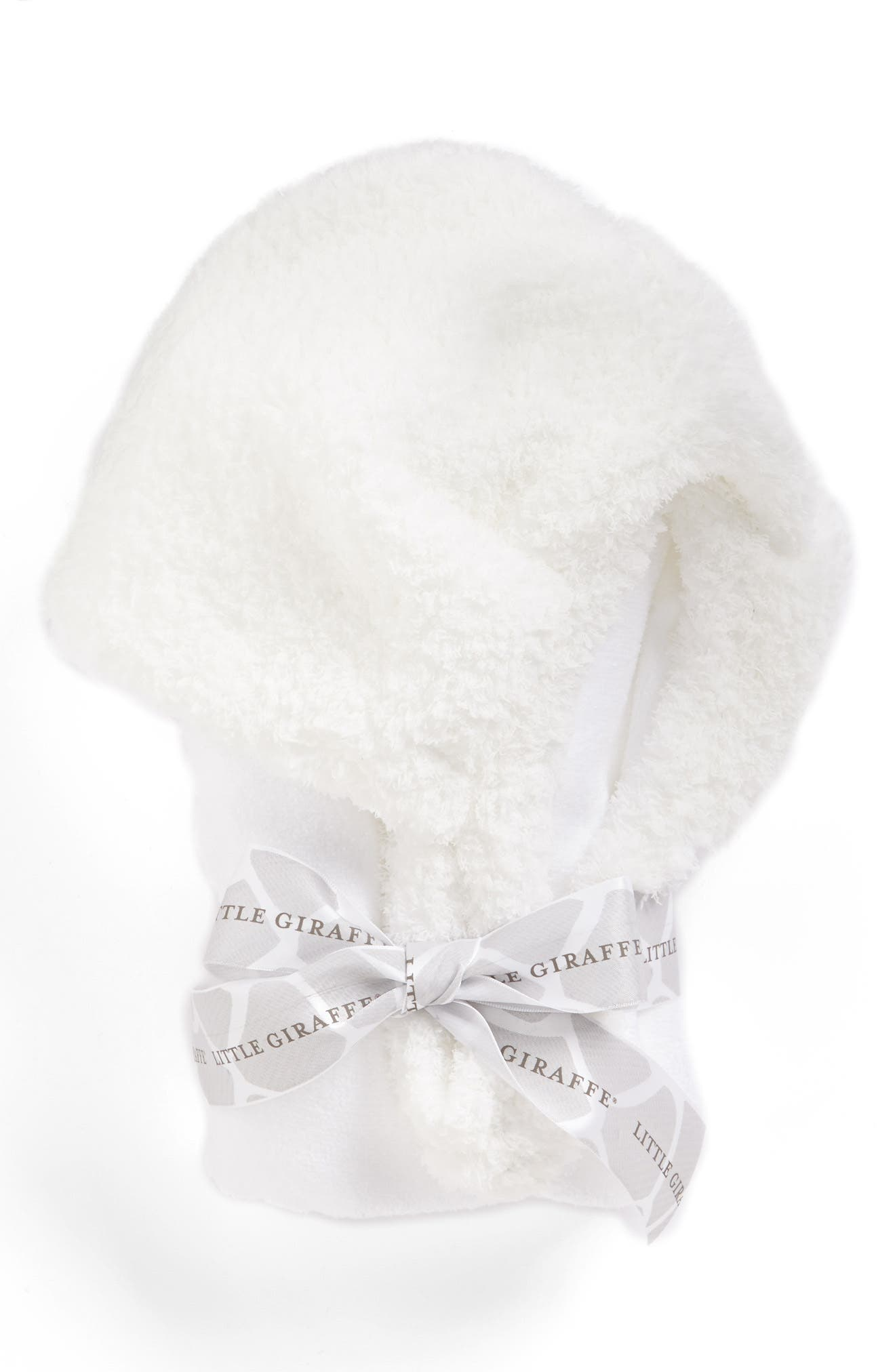 Luxe Hooded Towel,                         Main,                         color, White