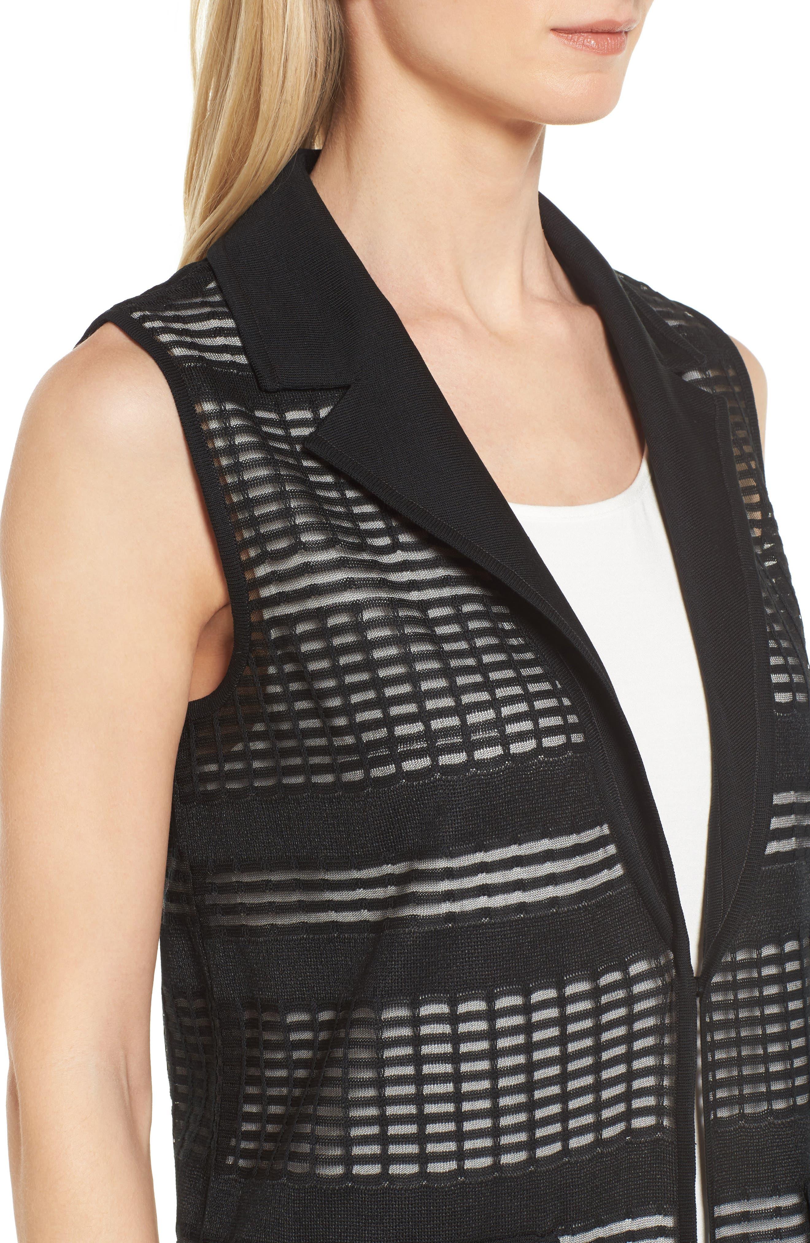 Alternate Image 4  - Mng Wang Long Geo Jacquard Vest